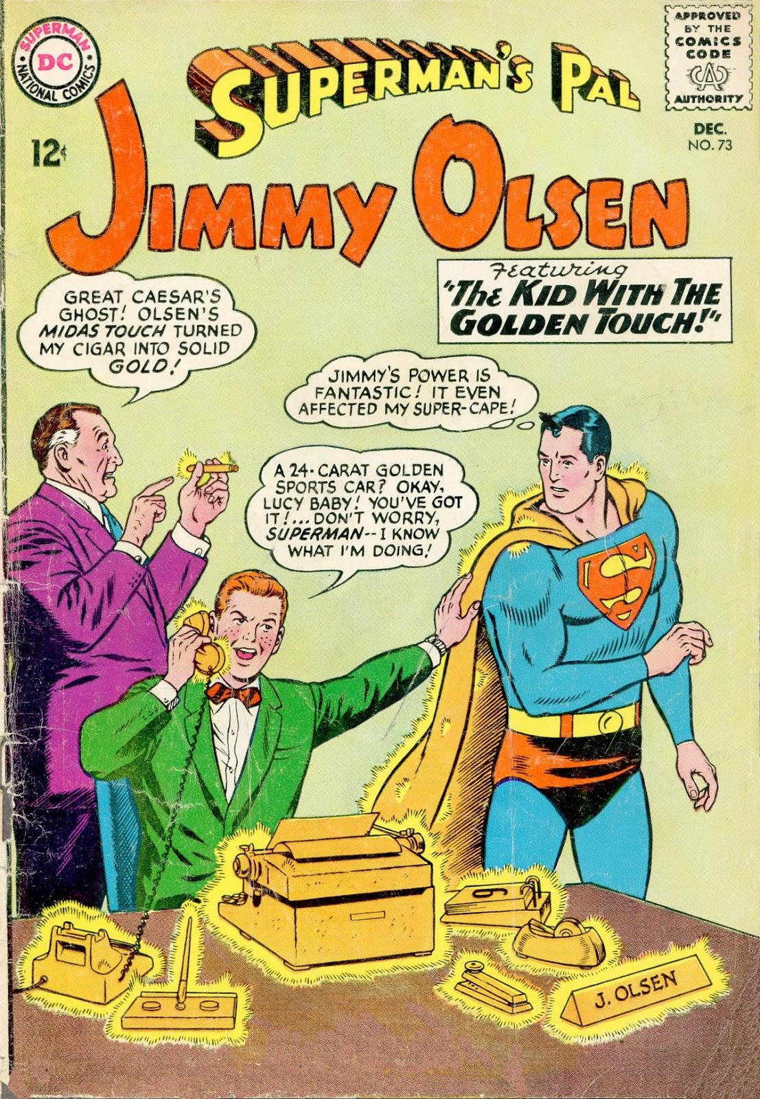 Supermans Pal Jimmy Olsen (1954) 73 Page 1