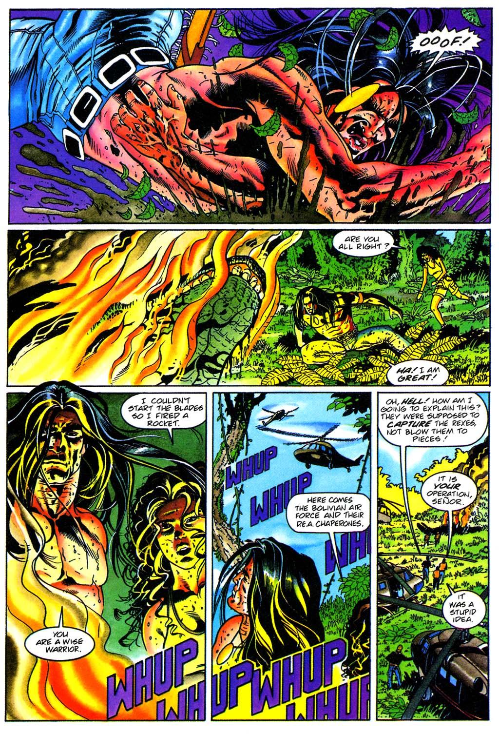 Read online Turok, Dinosaur Hunter (1993) comic -  Issue #28 - 21