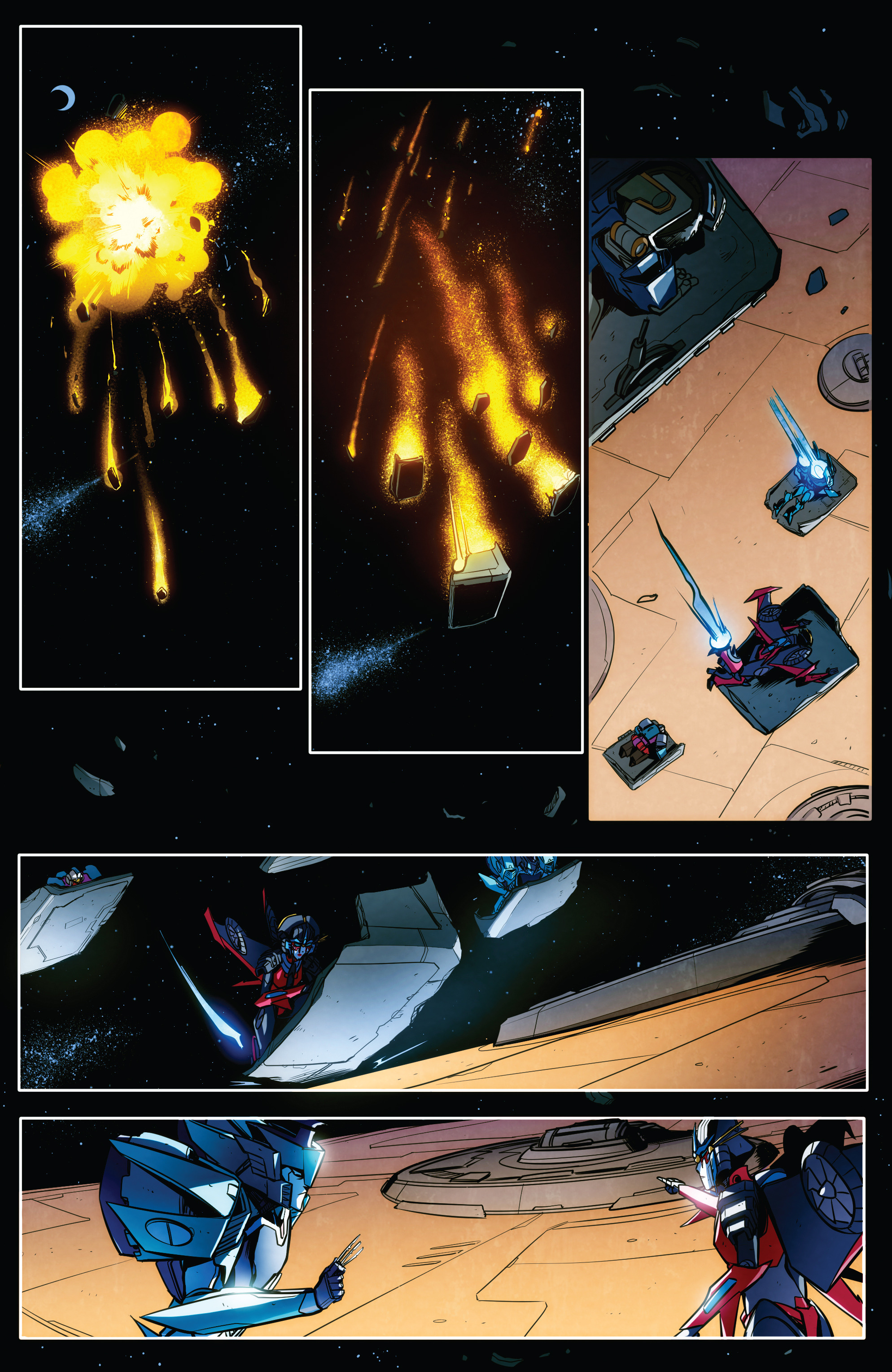 Read online Transformers: Till All Are One comic -  Issue #7 - 14