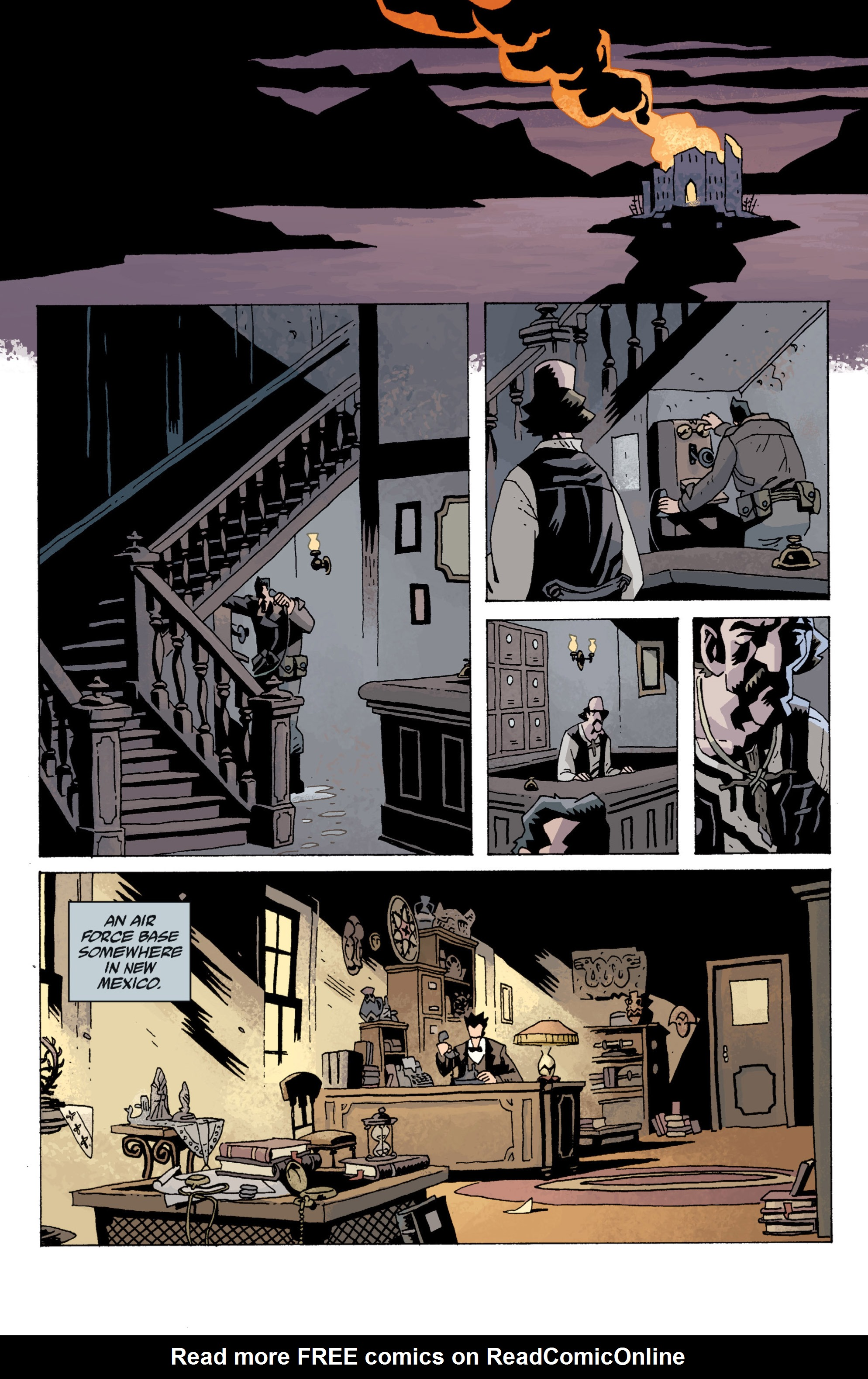 Read online B.P.R.D. (2003) comic -  Issue # TPB 13 - 82