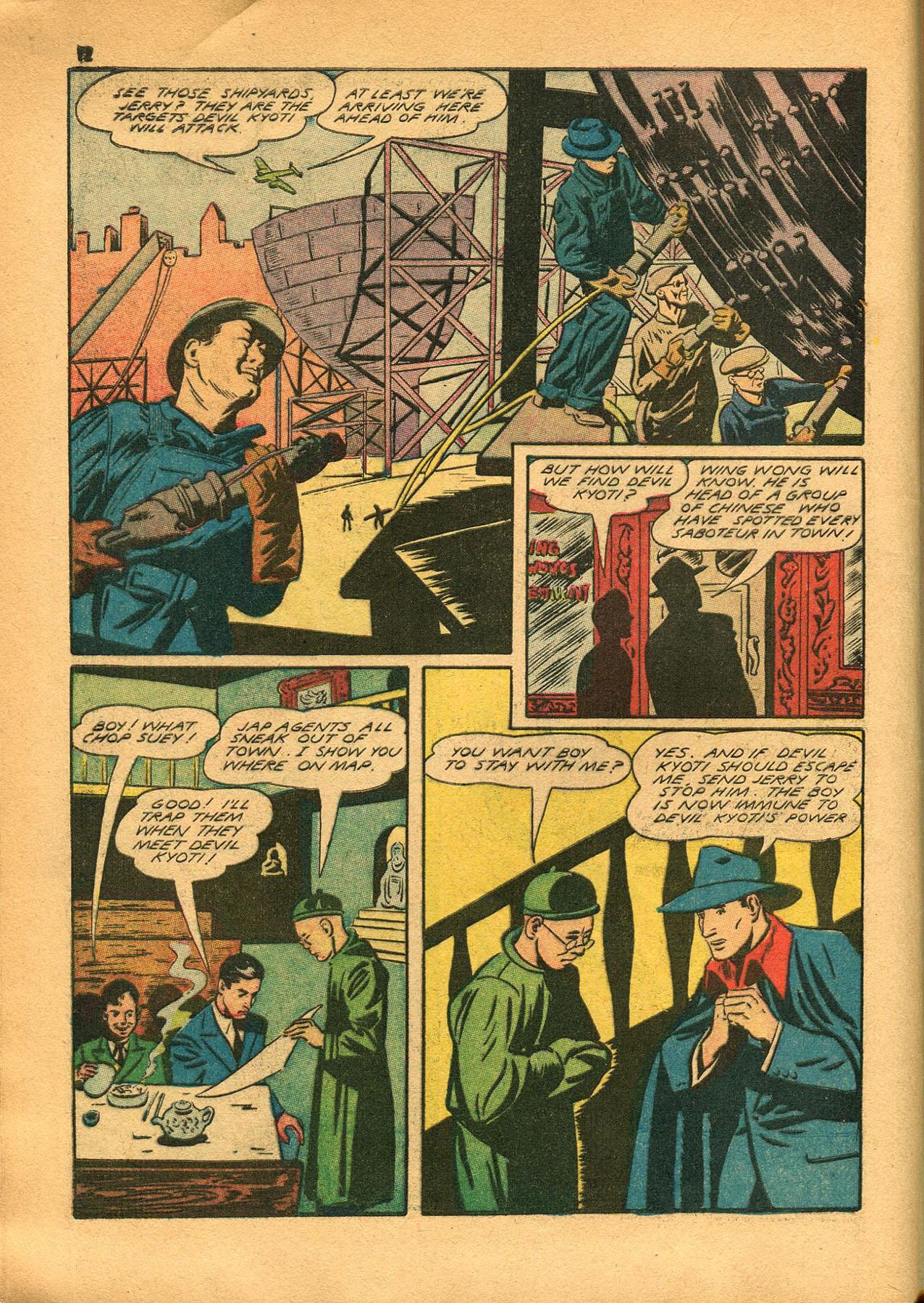 Read online Shadow Comics comic -  Issue #23 - 12