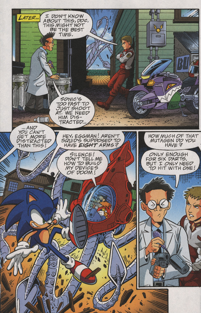 Read online Sonic X comic -  Issue #38 - 8