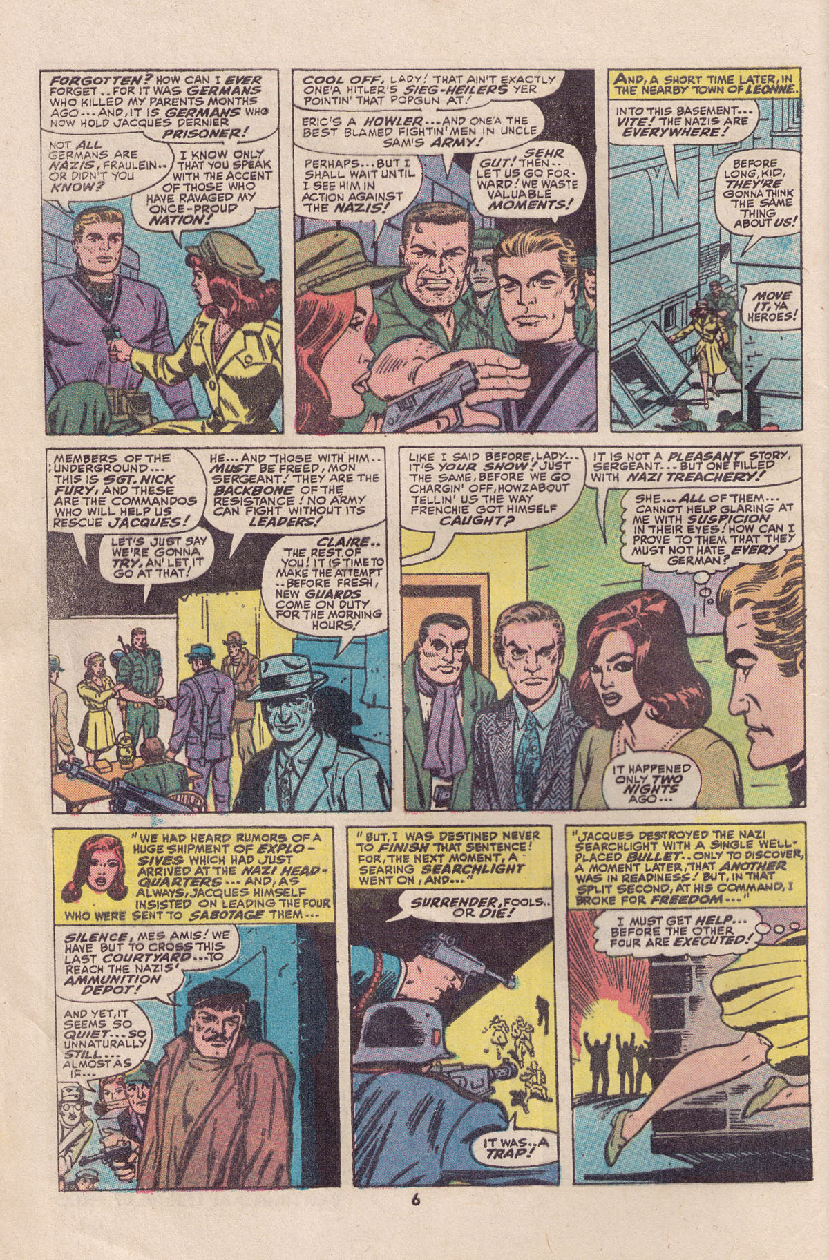 Read online Sgt. Fury comic -  Issue #113 - 8