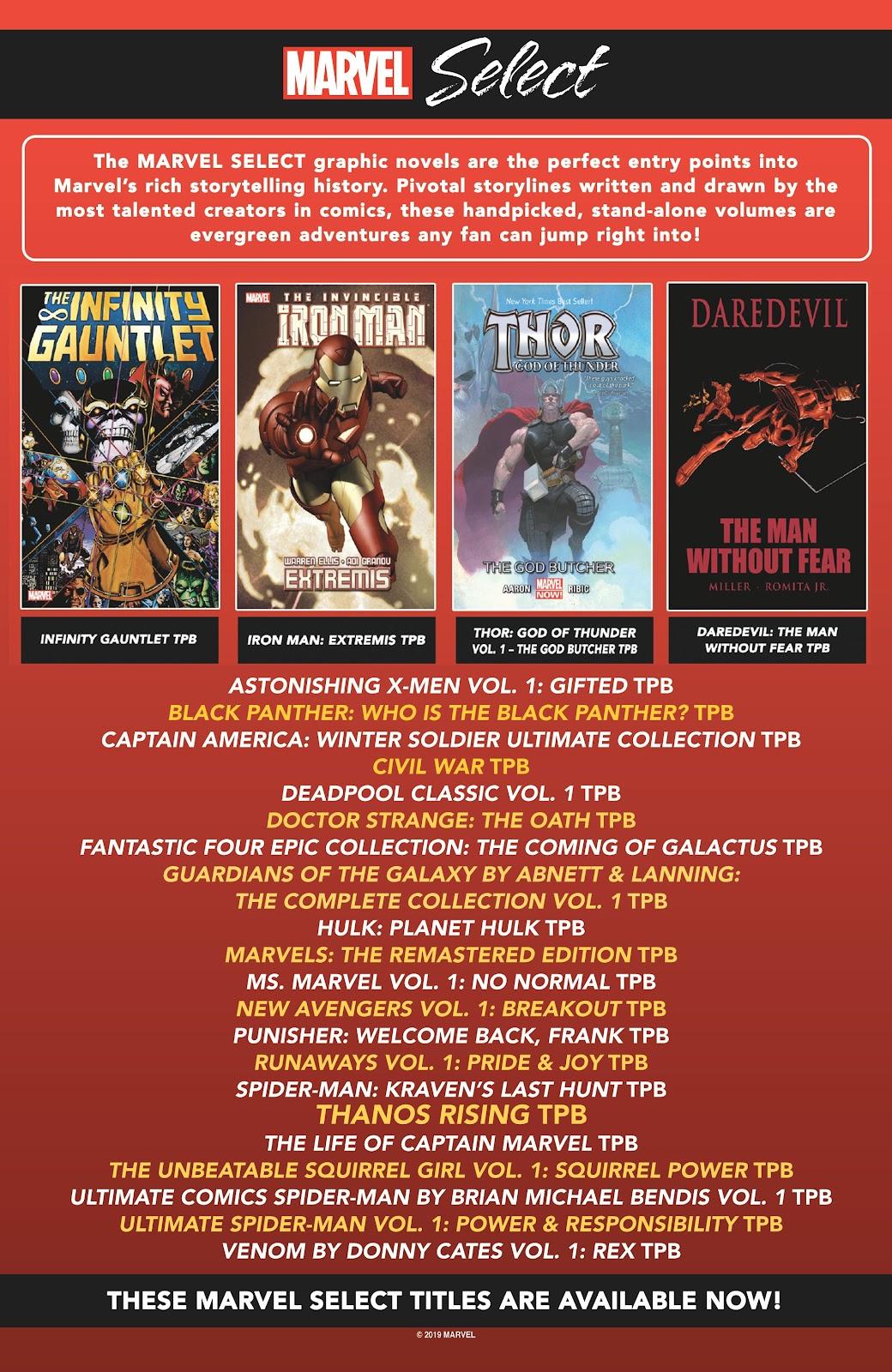 Read online Avengers Start Here Sampler 2019 comic -  Issue # Full - 24