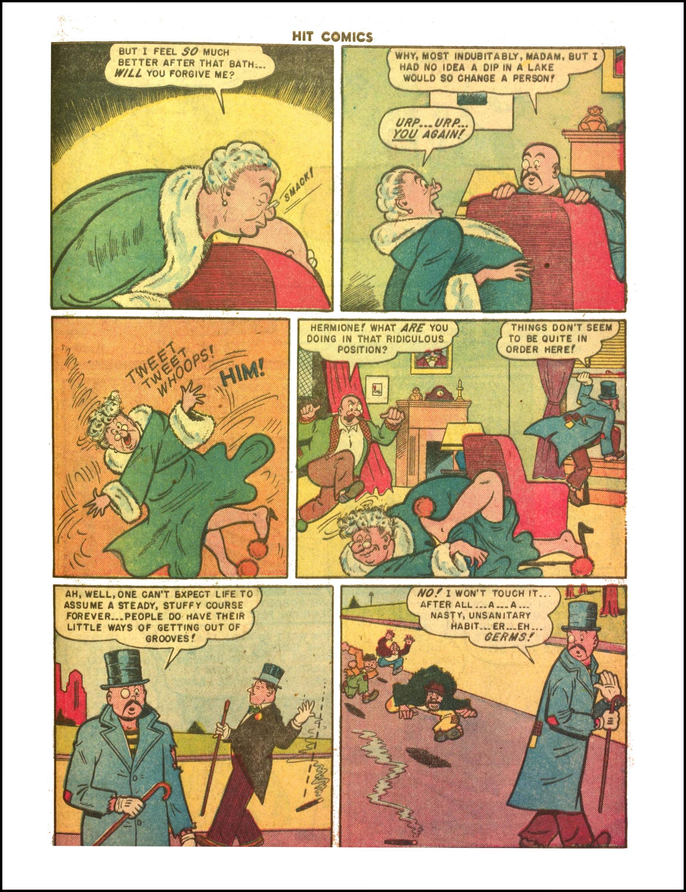 Read online Hit Comics comic -  Issue #65 - 21