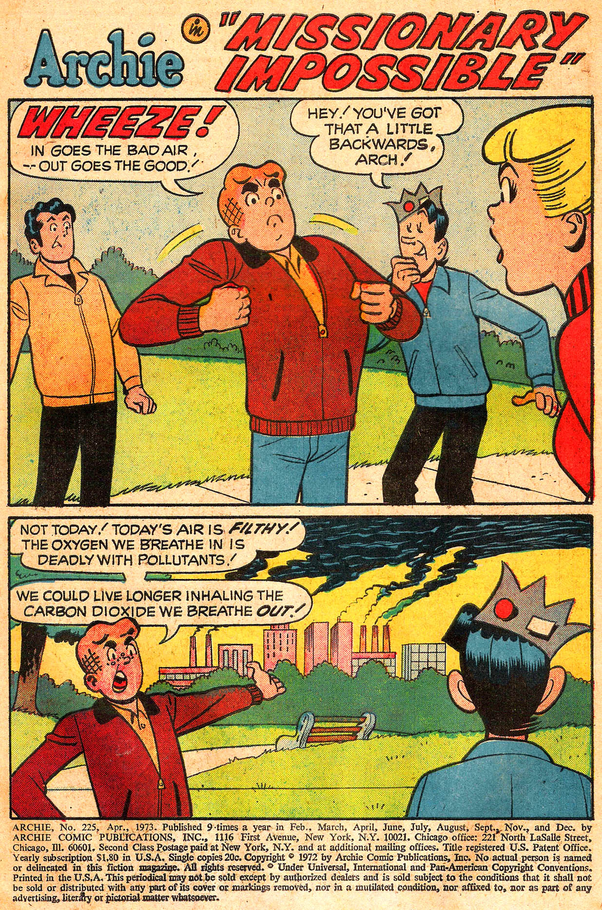 Read online Archie (1960) comic -  Issue #225 - 3