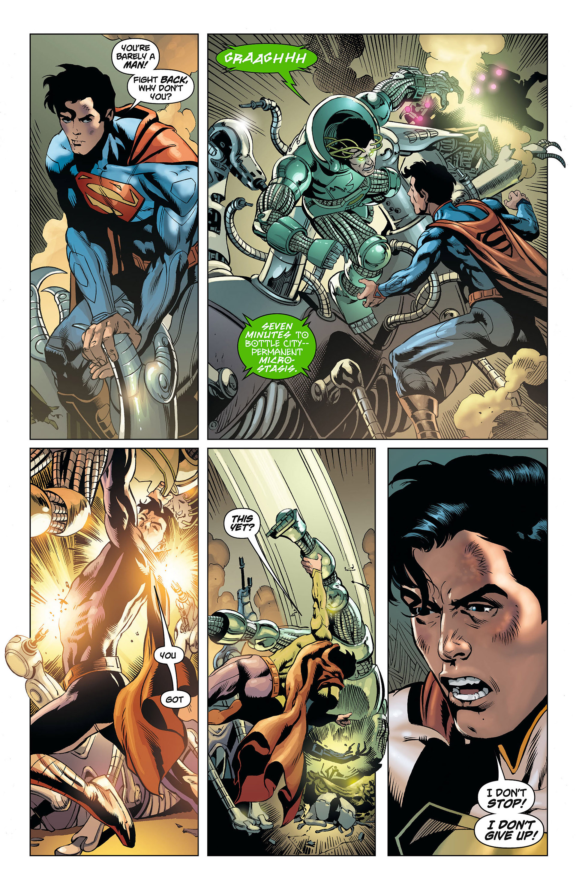 Read online Action Comics (2011) comic -  Issue #8 - 10