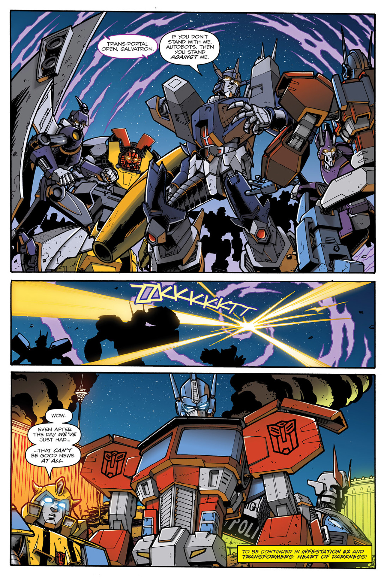 Read online Transformers: Infestation comic -  Issue #2 - 26