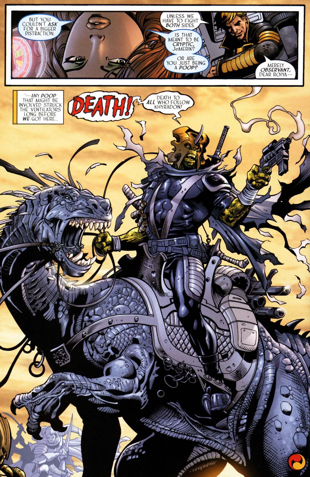 Read online Sigil (2000) comic -  Issue #26 - 34