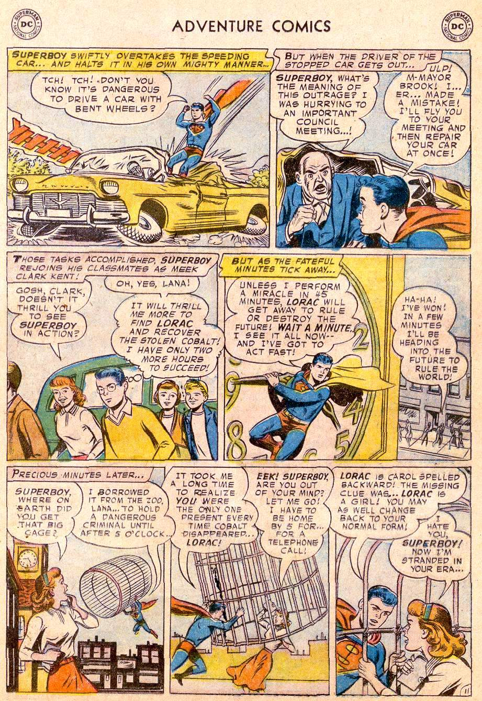 Read online Adventure Comics (1938) comic -  Issue #250 - 13
