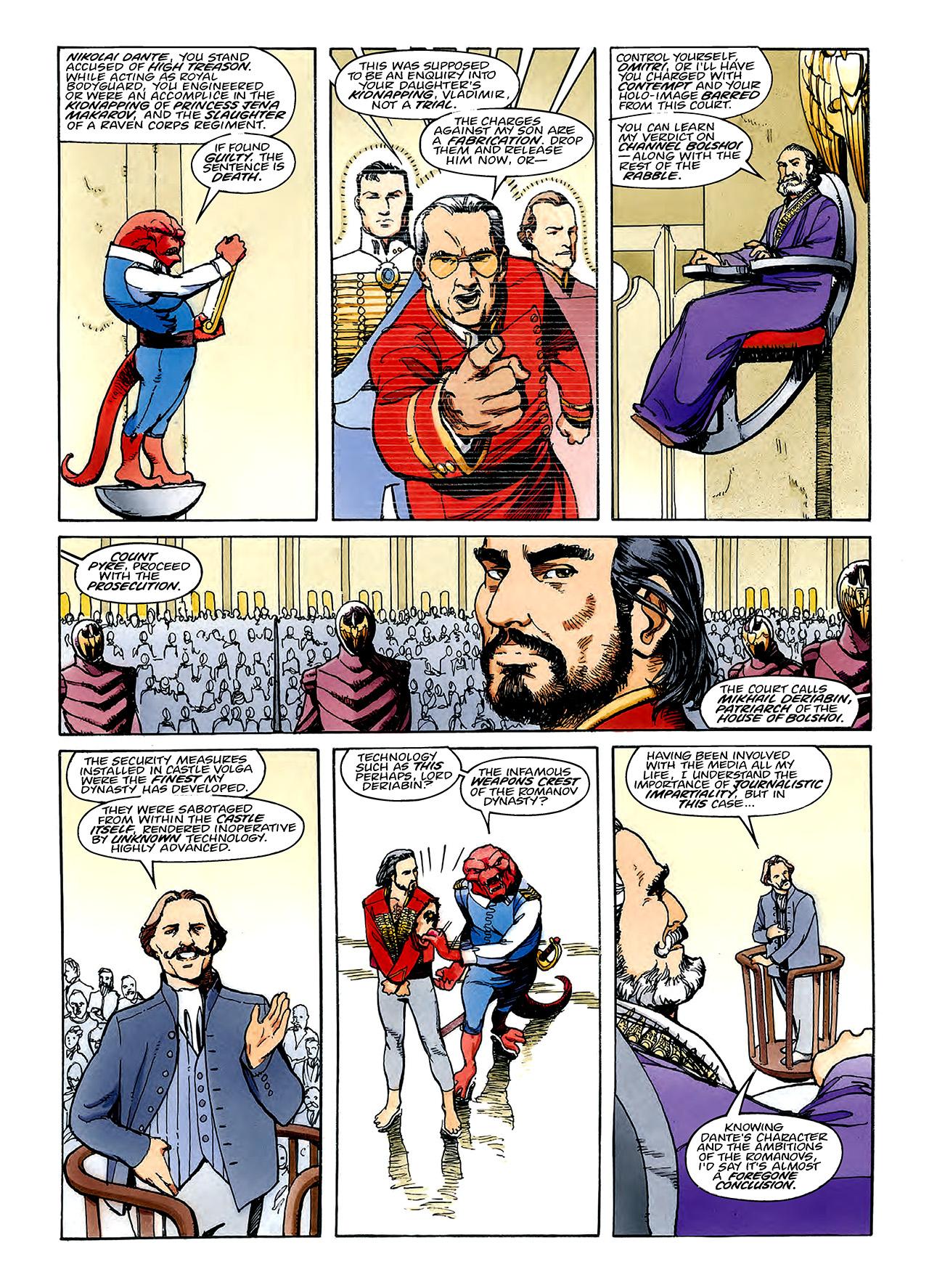 Read online Nikolai Dante comic -  Issue # TPB 3 - 86