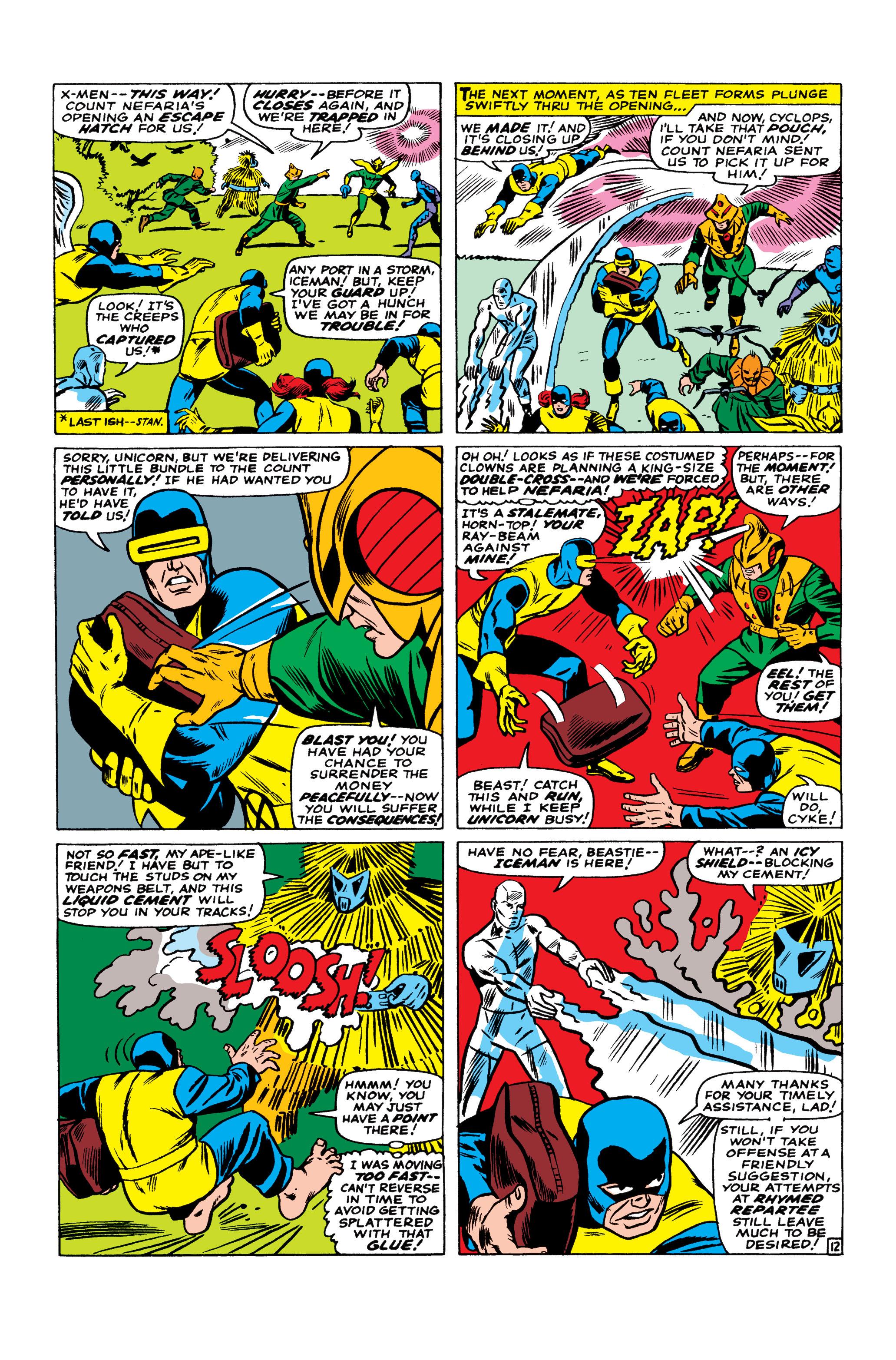 Read online Uncanny X-Men (1963) comic -  Issue #23 - 13
