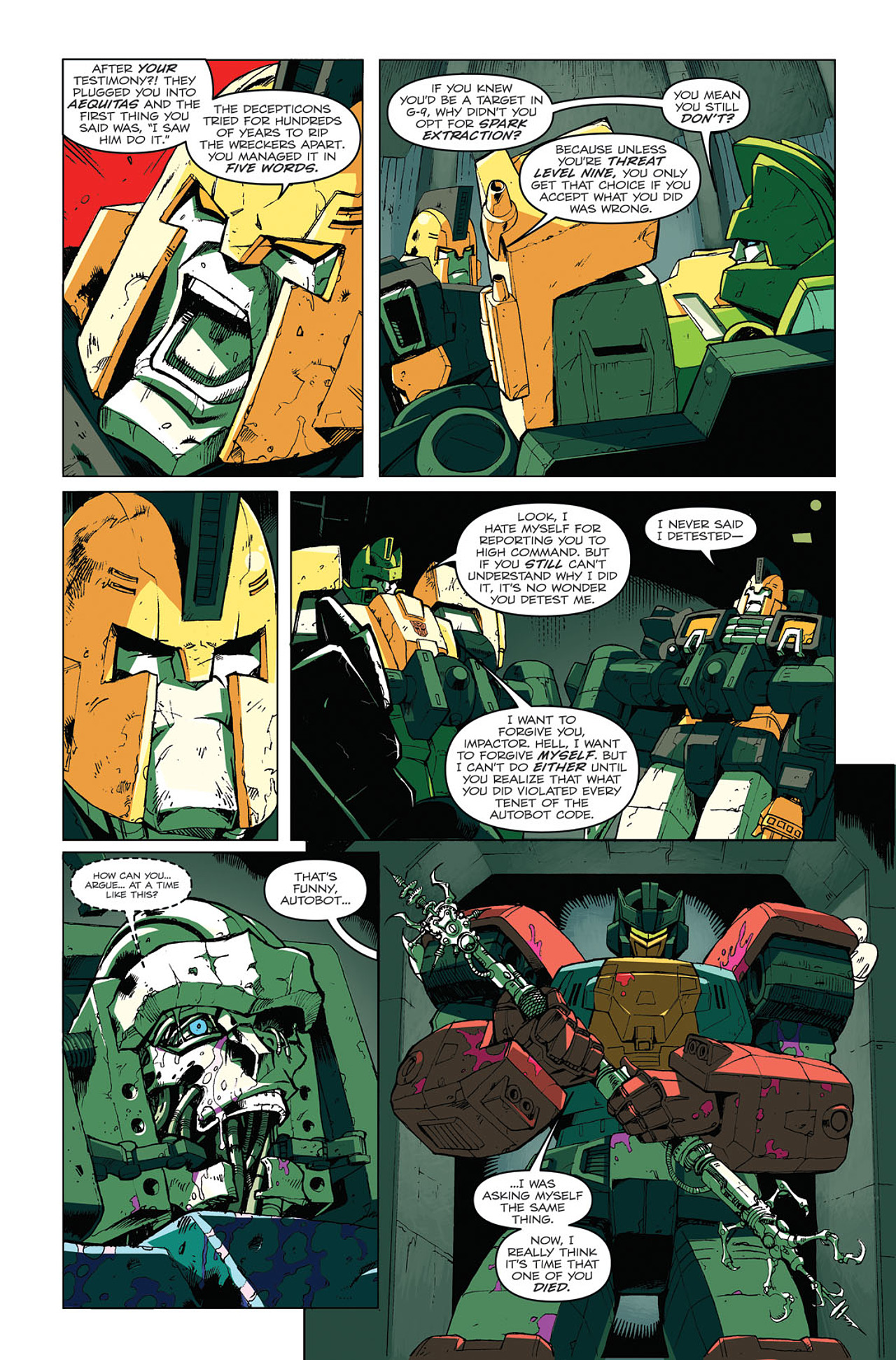 Read online Transformers: Last Stand of The Wreckers comic -  Issue #4 - 11