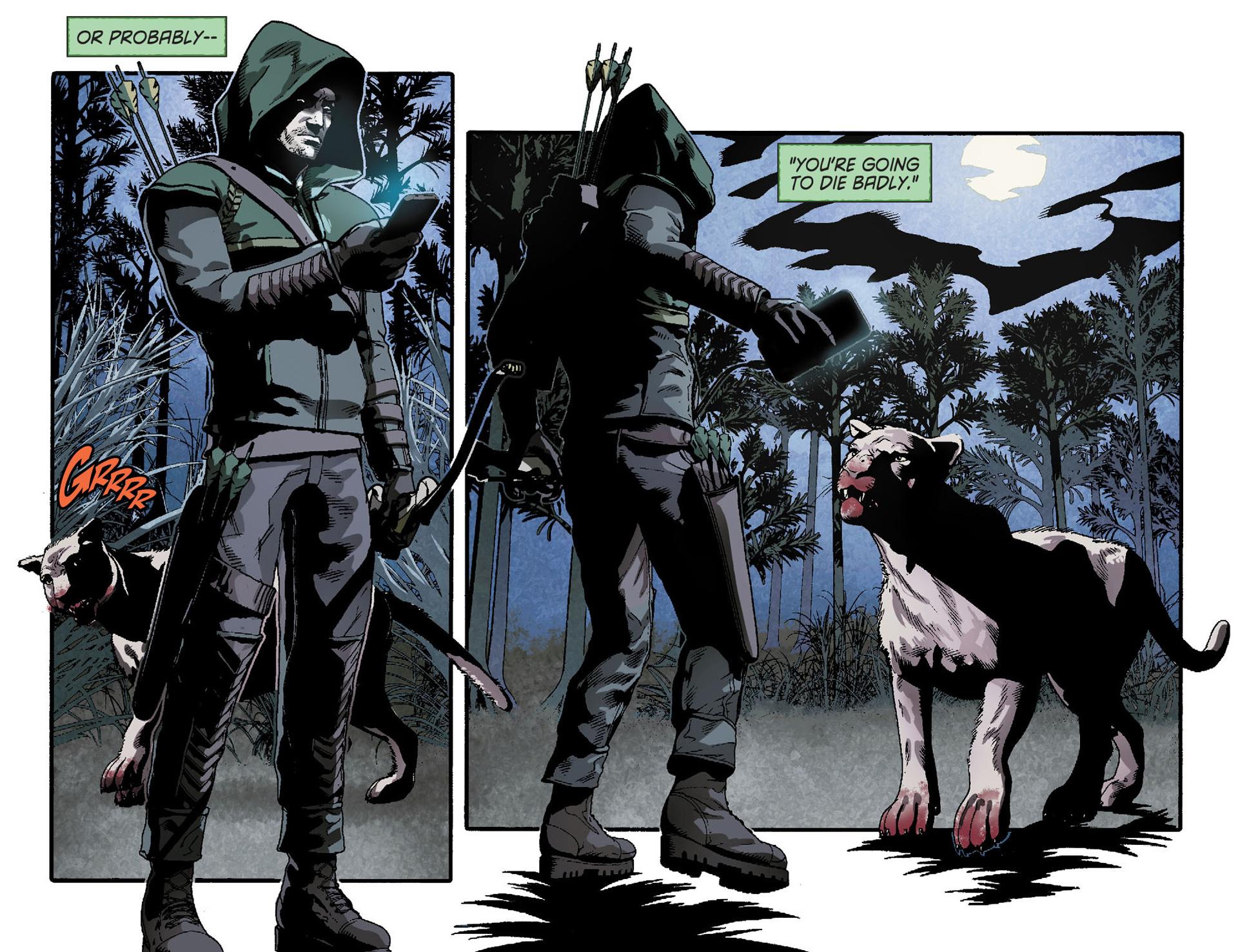Read online Arrow [II] comic -  Issue #23 - 20