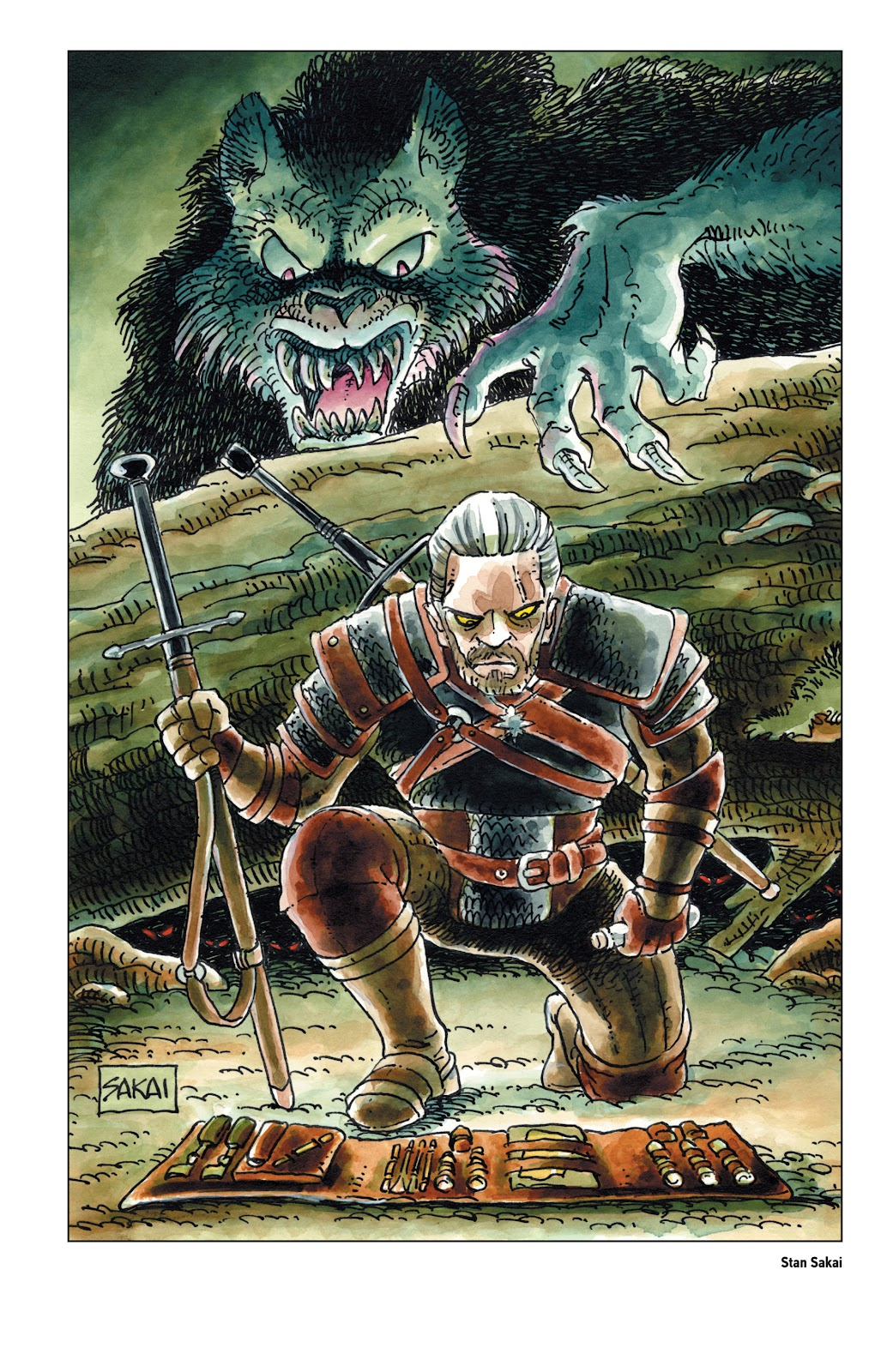 Read online The Witcher Omnibus comic -  Issue # TPB (Part 5) - 20