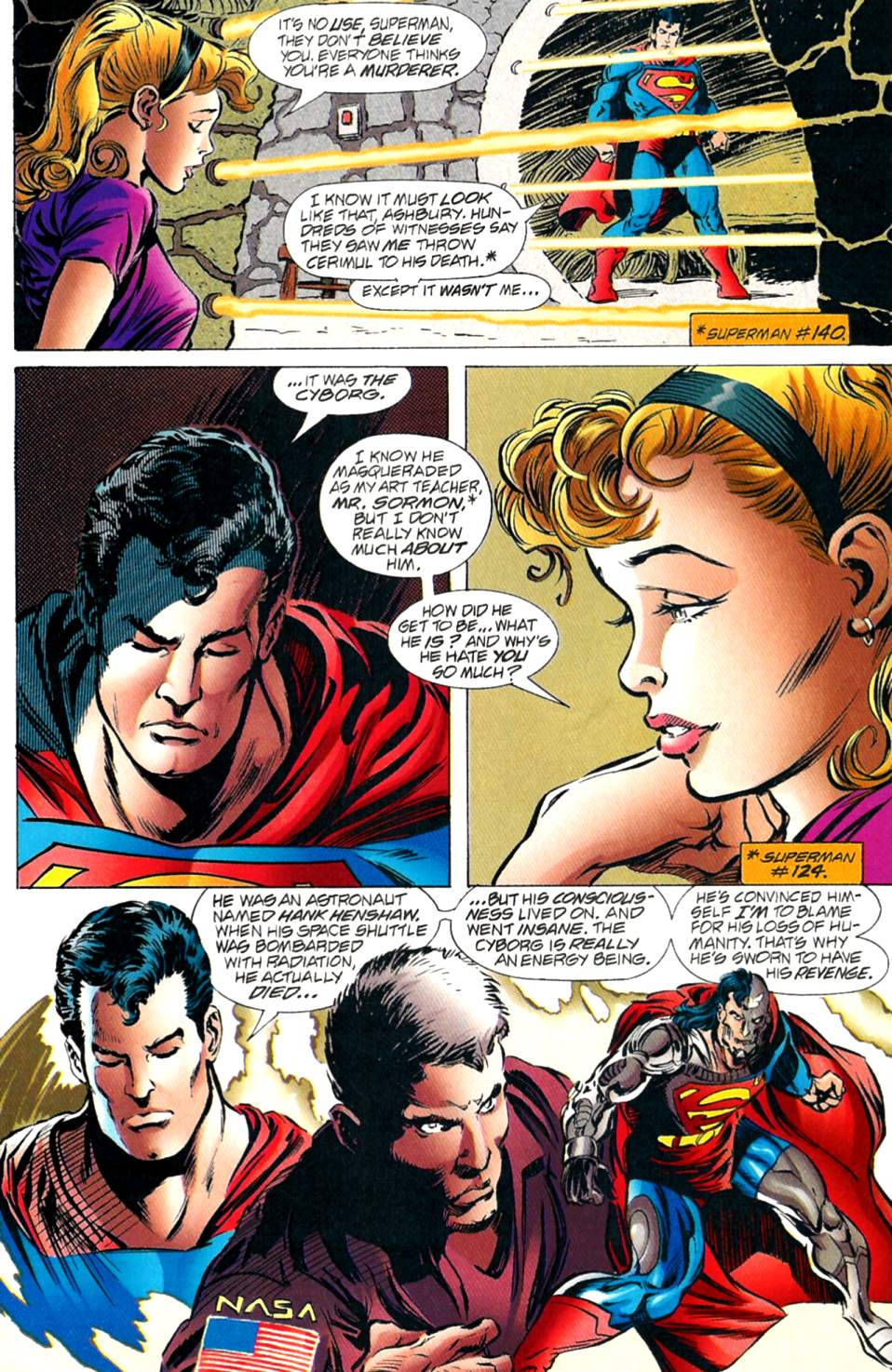 Read online Adventures of Superman (1987) comic -  Issue #563 - 3