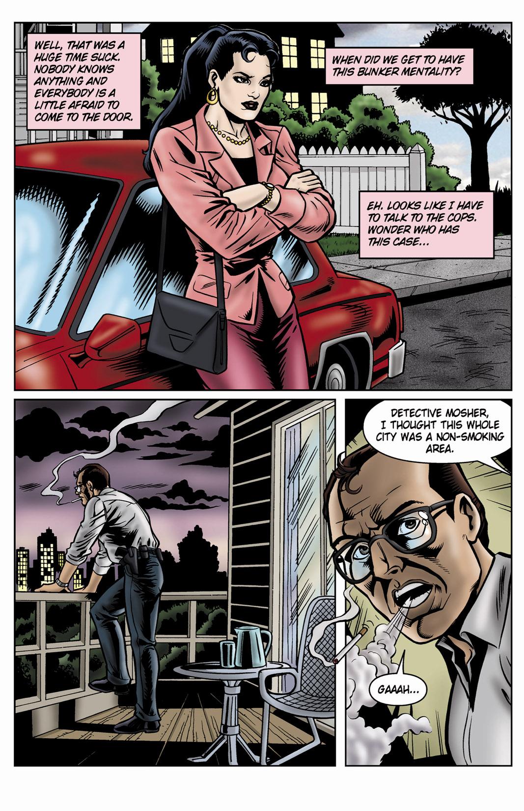 Read online SideChicks comic -  Issue #4 - 22