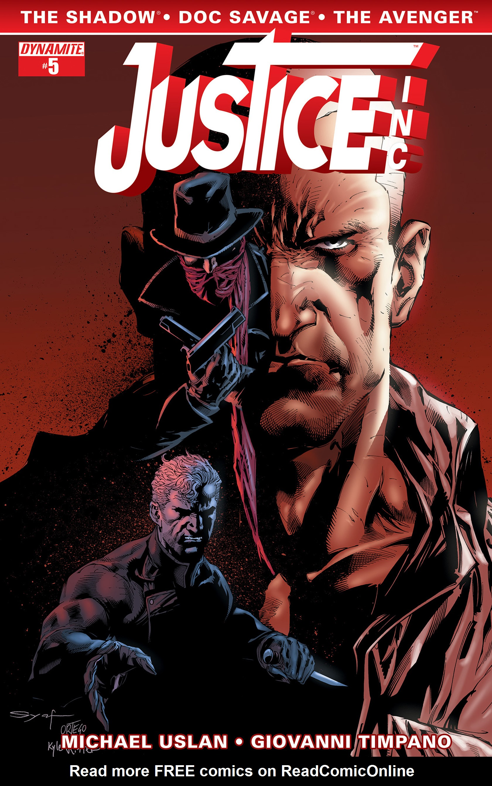 Read online Justice, Inc. comic -  Issue #5 - 4