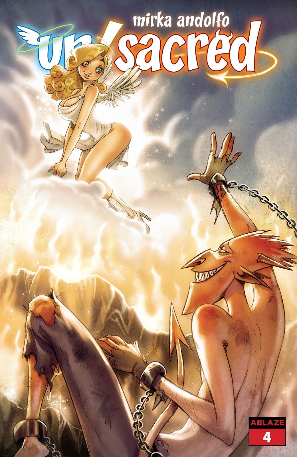 Mirka Andolfo Un/Sacred issue 4 - Page 1