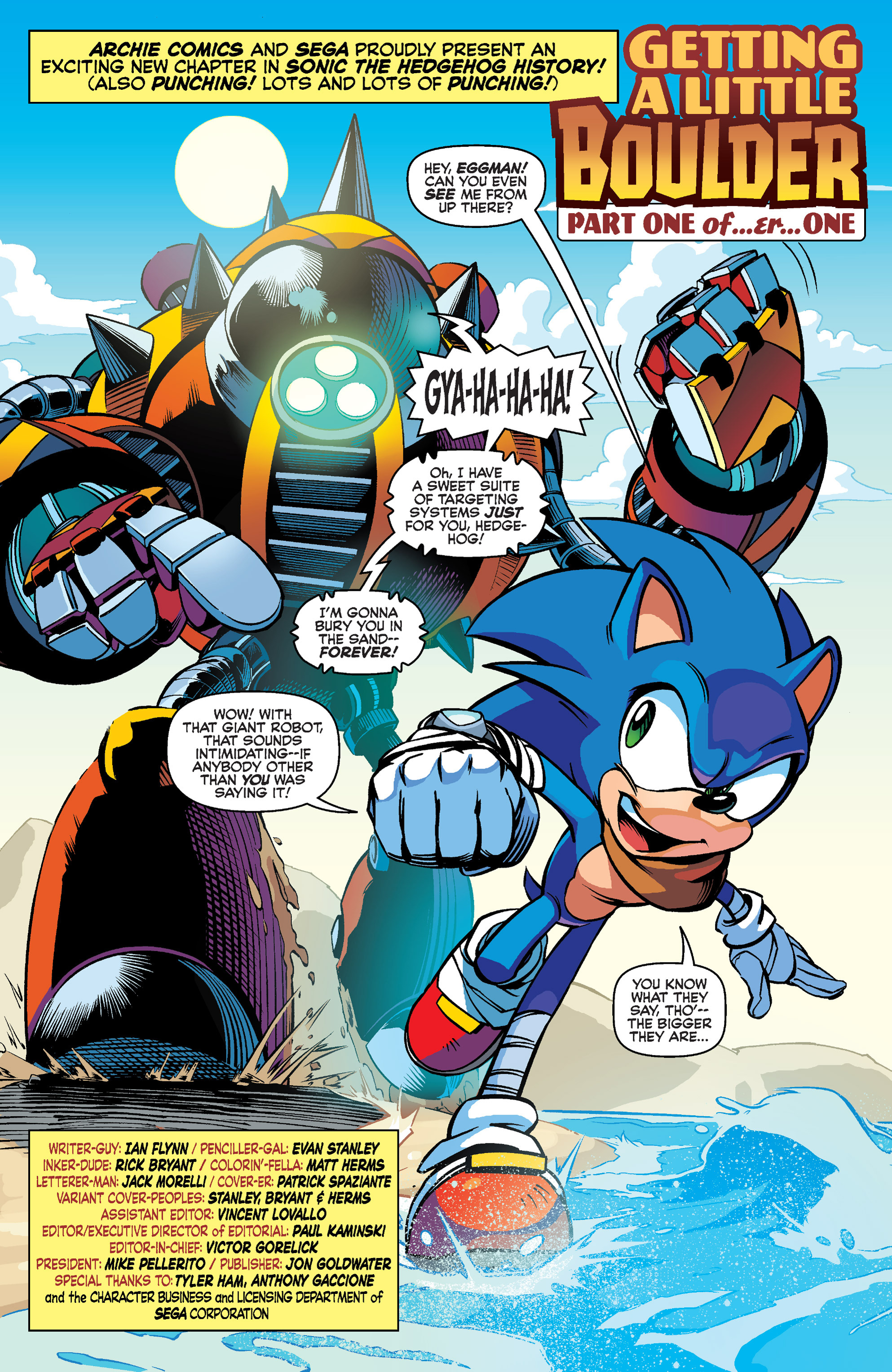 Read online Sonic Boom comic -  Issue #1 - 3