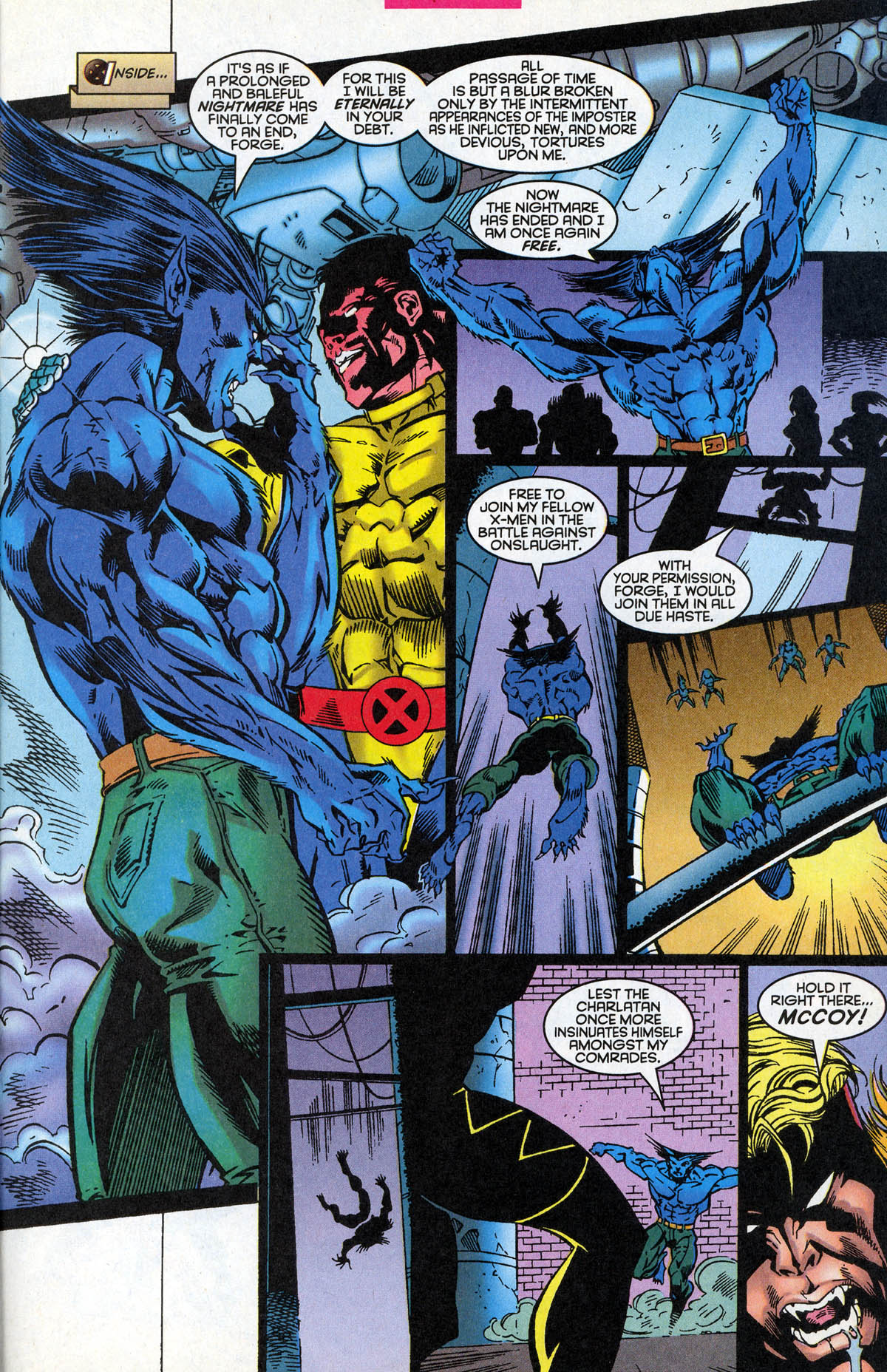 Read online X-Factor (1986) comic -  Issue #126 - 19