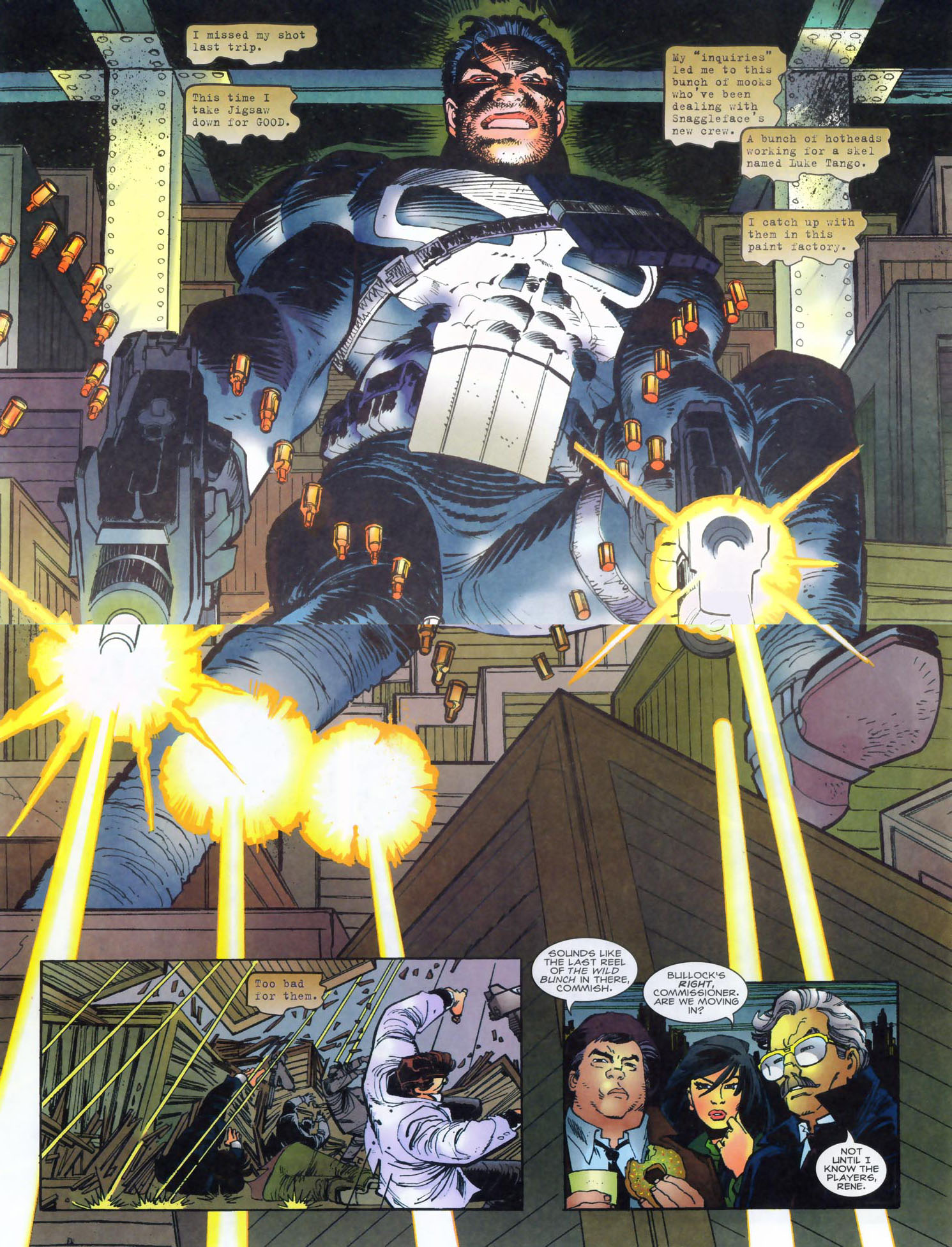 Read online Punisher/Batman: Deadly Knights comic -  Issue # Full - 6