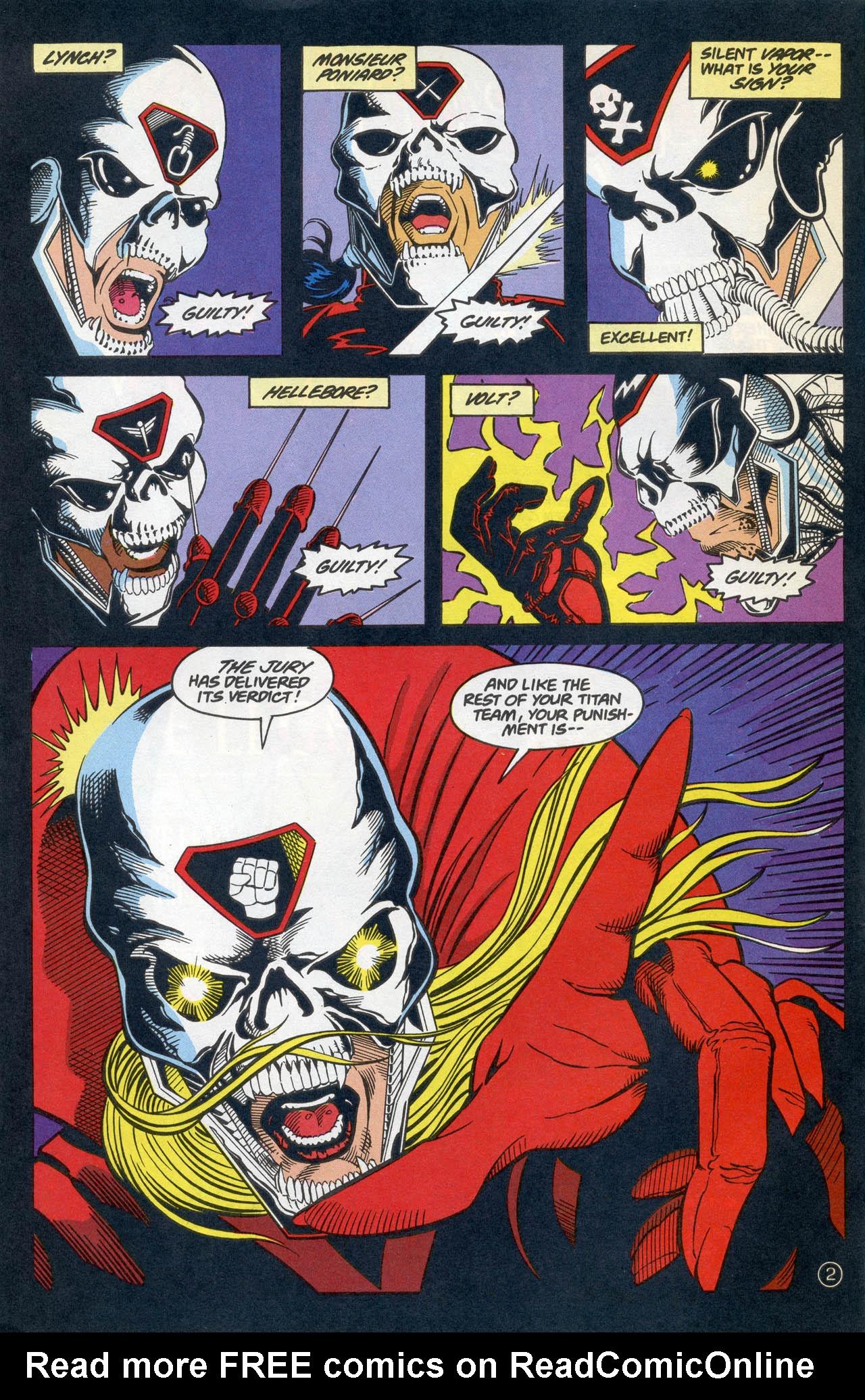 Read online Team Titans comic -  Issue #4 - 4