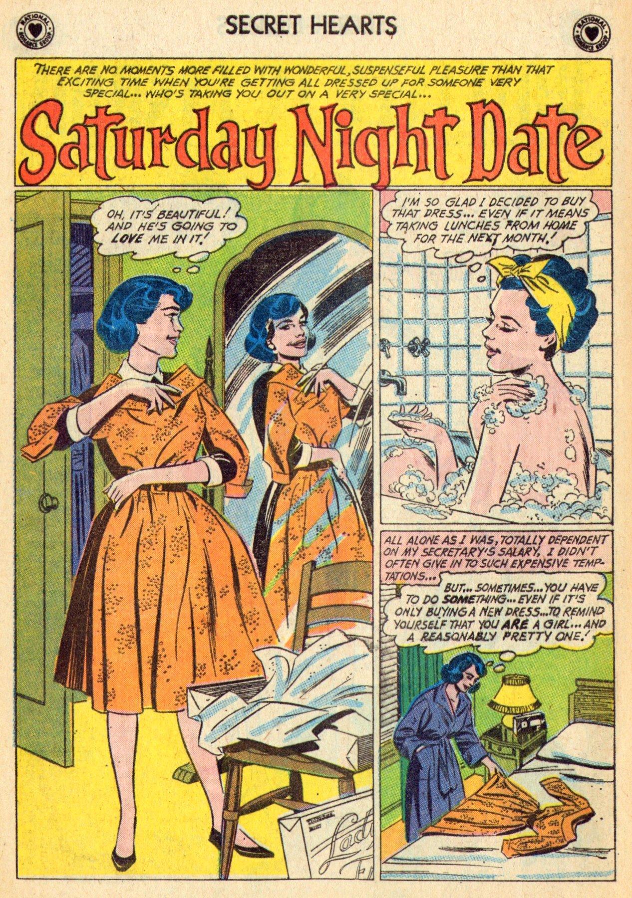 Read online Secret Hearts comic -  Issue #70 - 20