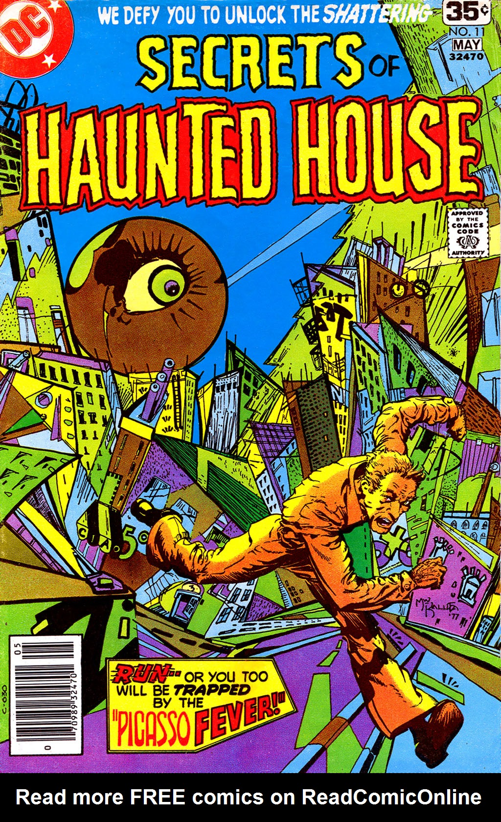 Read online Secrets of Haunted House comic -  Issue #11 - 1