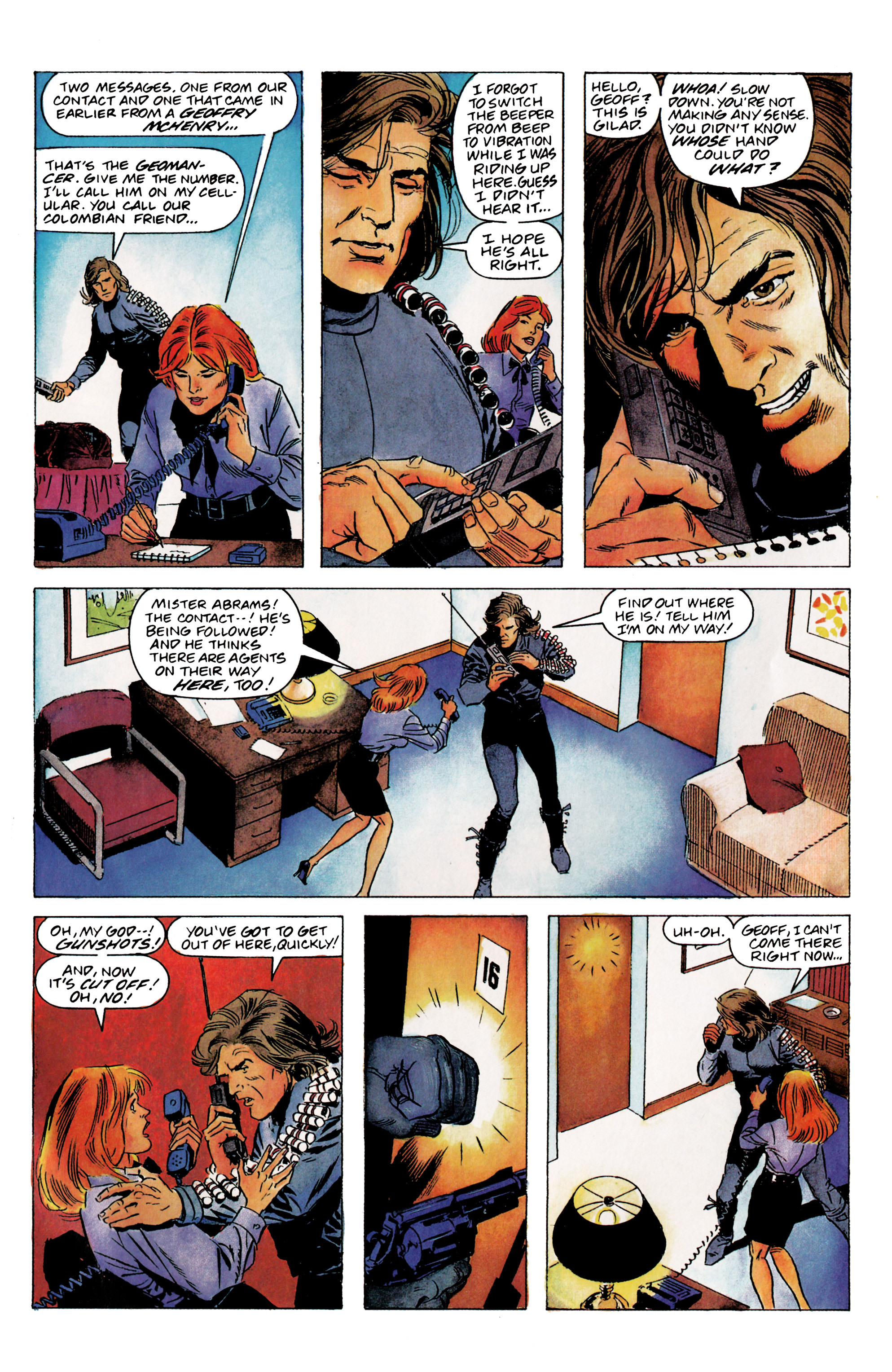 Read online Eternal Warrior (1992) comic -  Issue #1 - 26