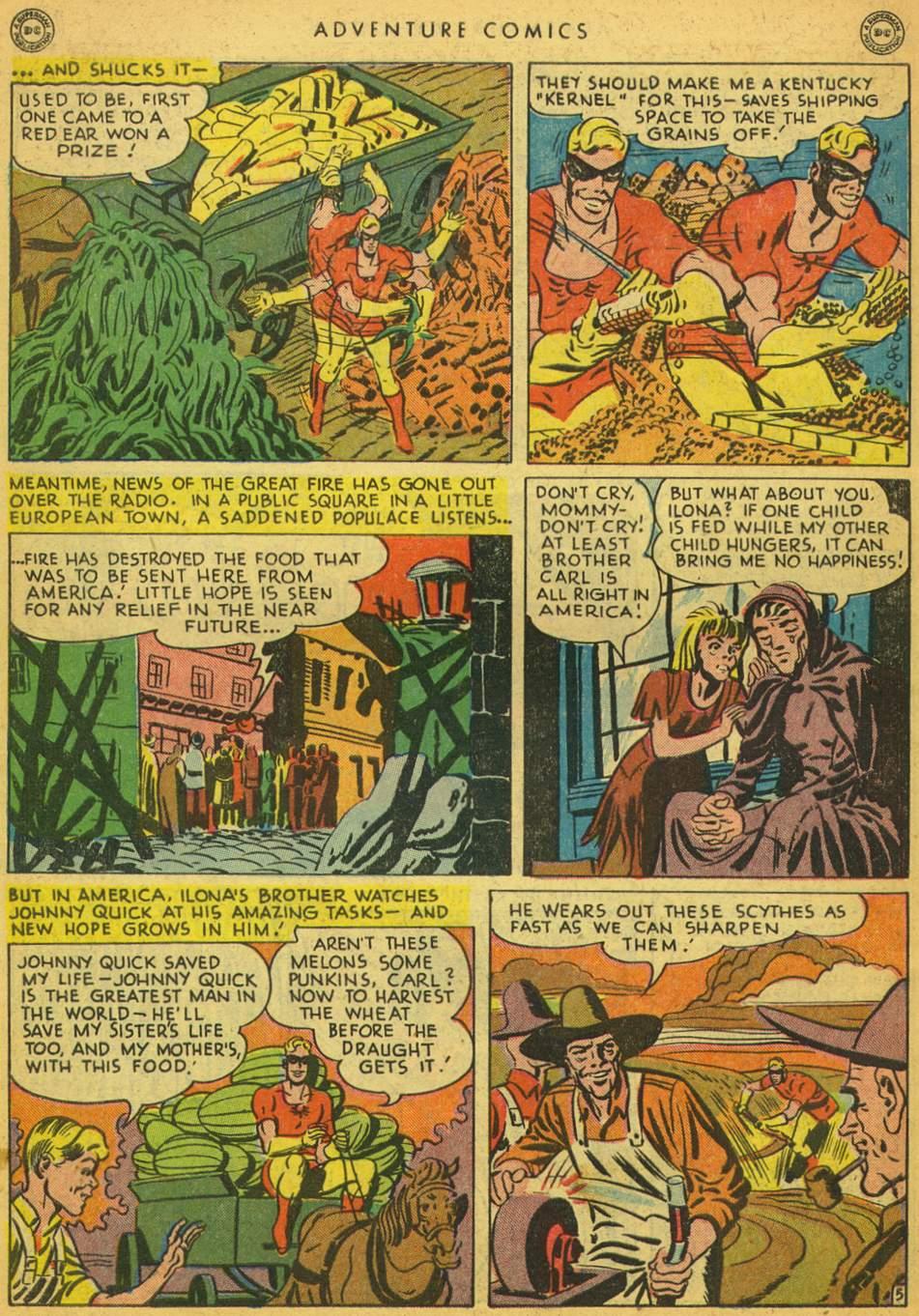 Read online Adventure Comics (1938) comic -  Issue #128 - 42