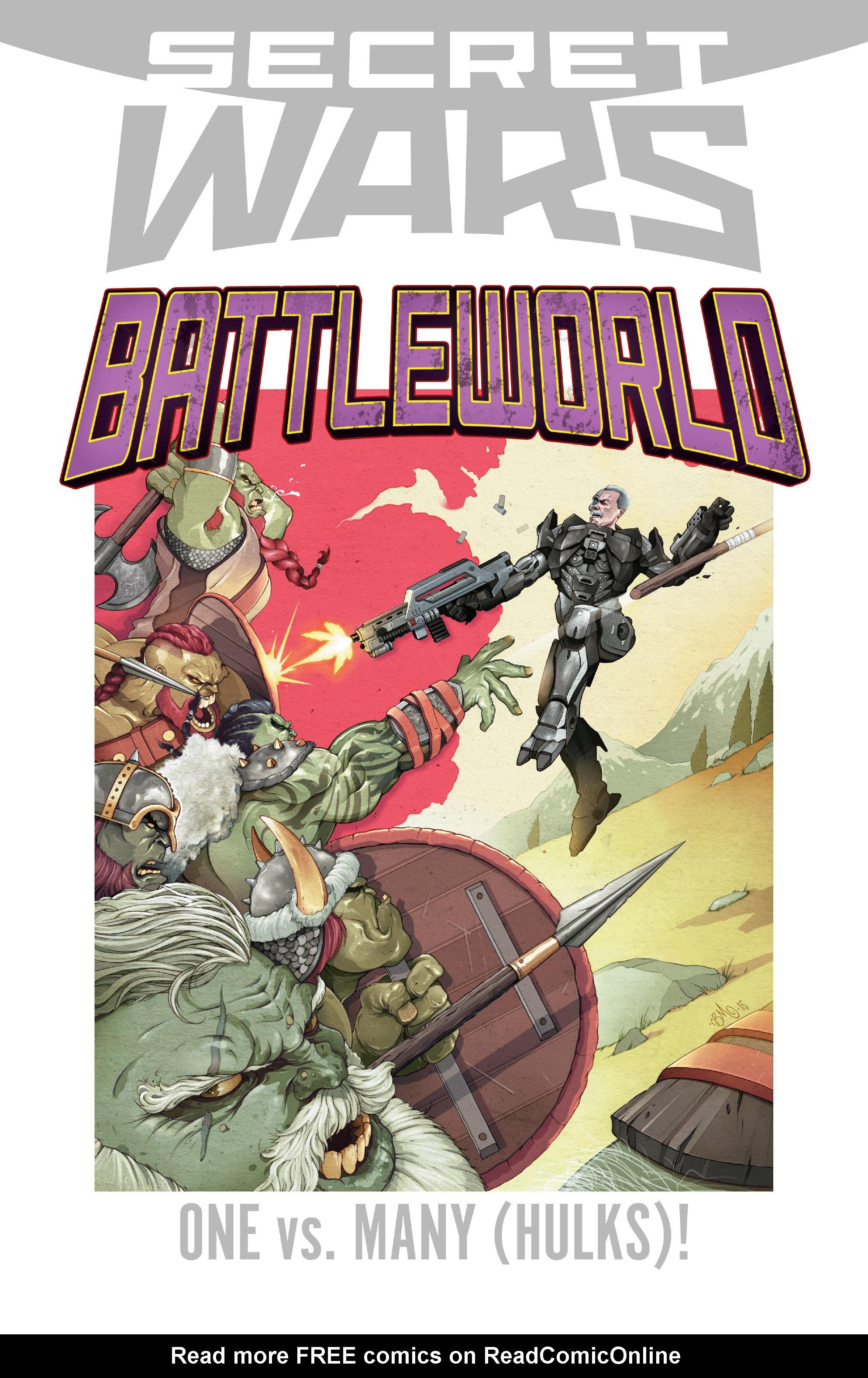 Read online Secret Wars Journal/Battleworld comic -  Issue # TPB - 141