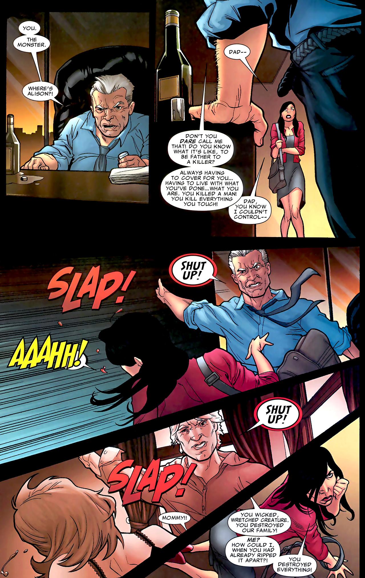 Read online X Necrosha: The Gathering comic -  Issue # Full - 30