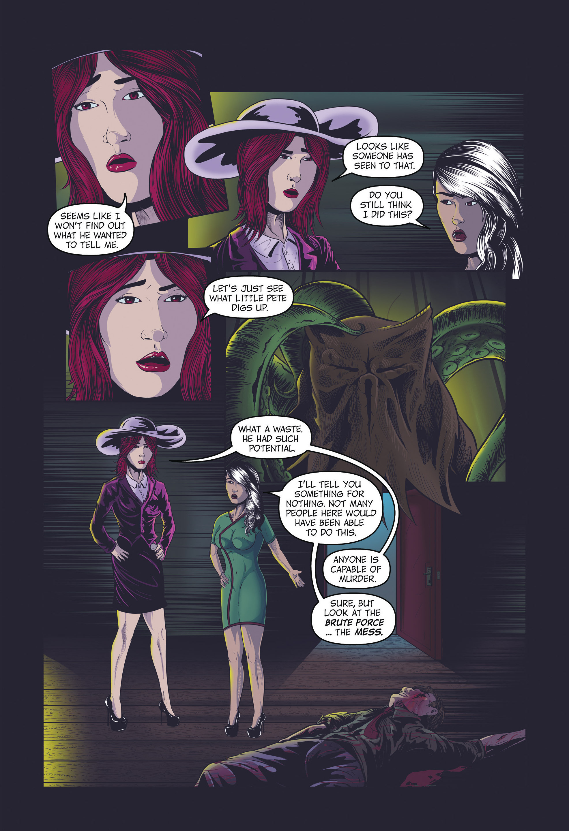 Read online Redemption Heights comic -  Issue # Full - 66