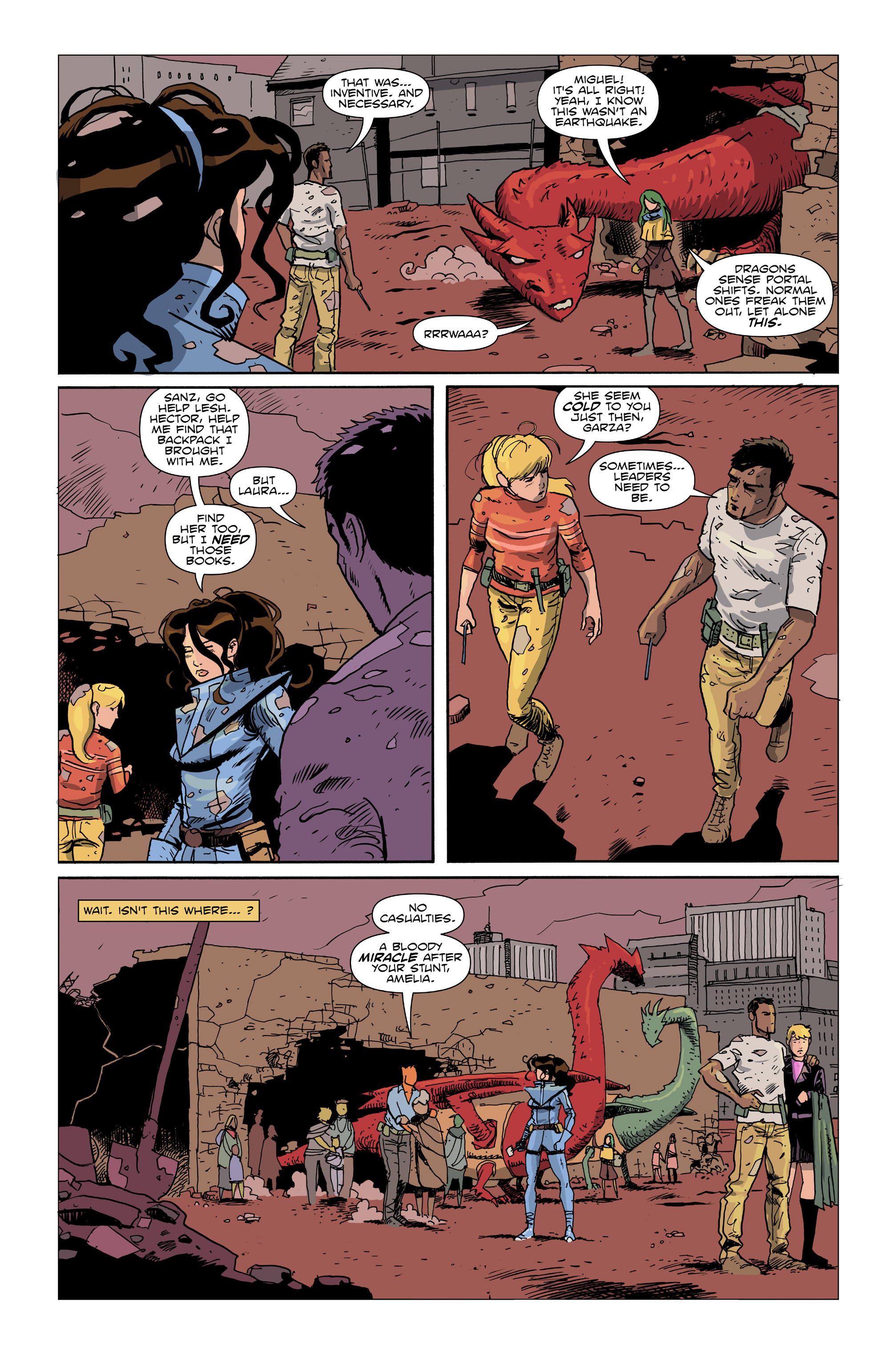 Read online Amelia Cole Versus The End of Everything comic -  Issue #26 - 14