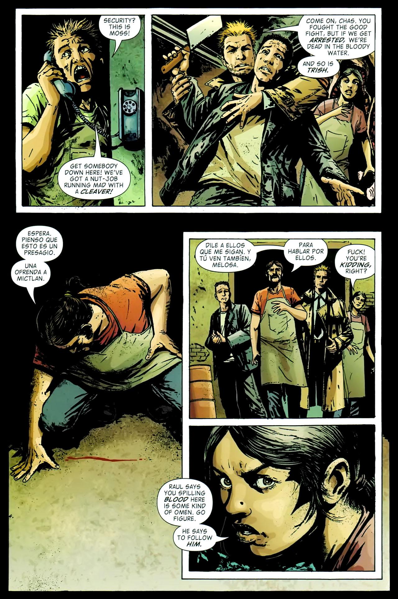 Read online John Constantine Hellblazer: All His Engines comic -  Issue # Full - 61