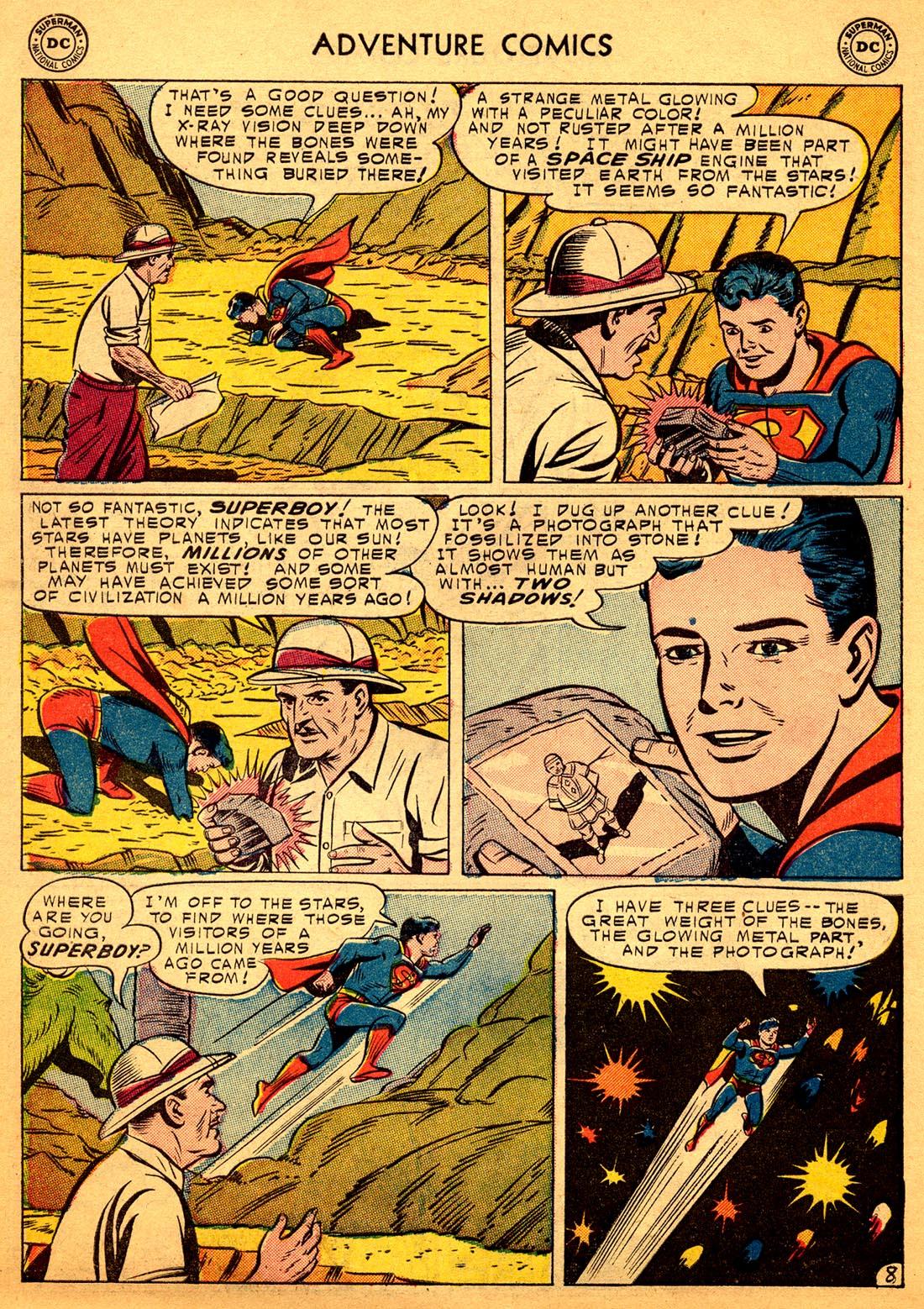 Read online Adventure Comics (1938) comic -  Issue #206 - 10