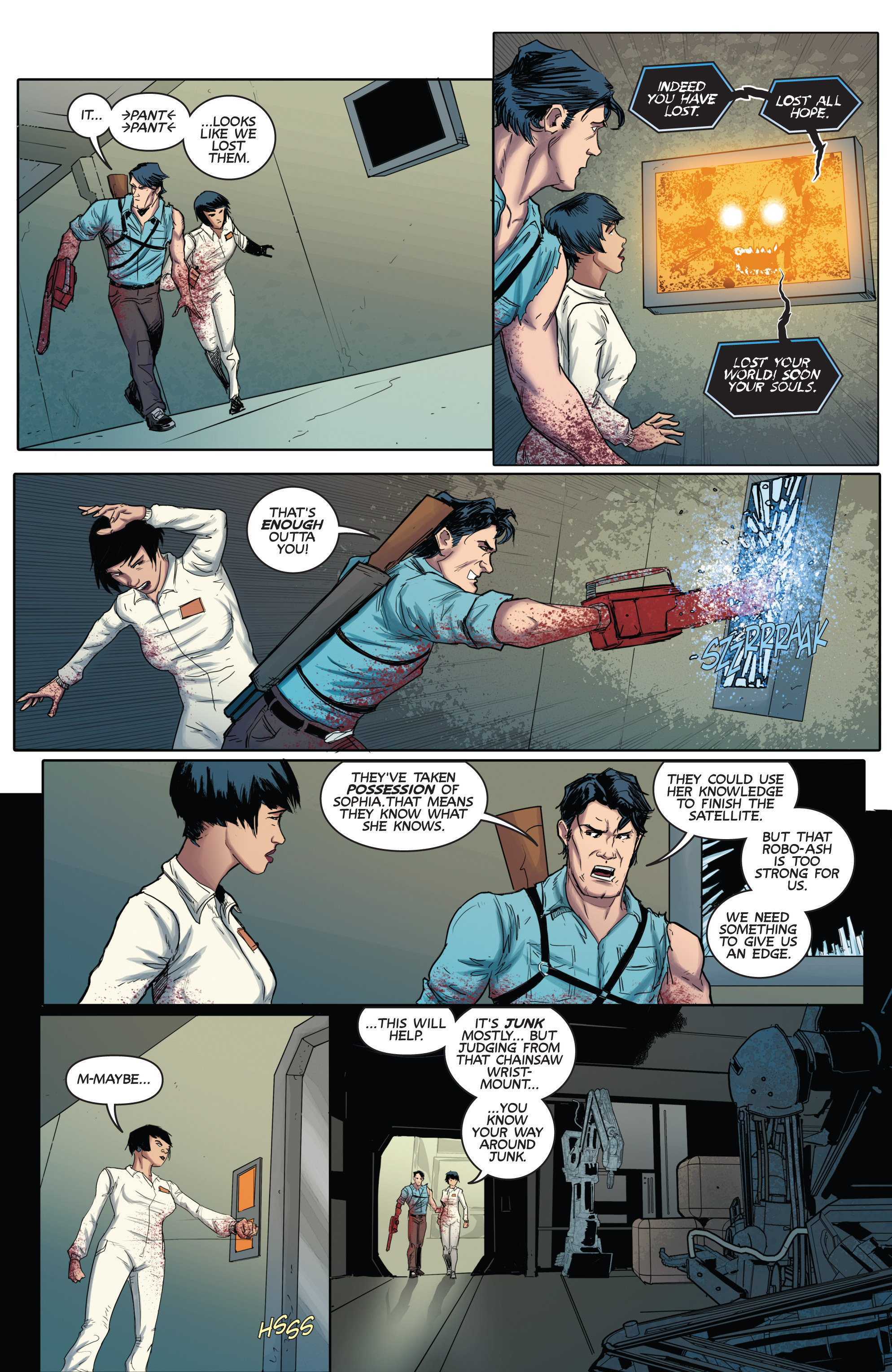 Read online Army of Darkness (2014) comic -  Issue #3 - 24