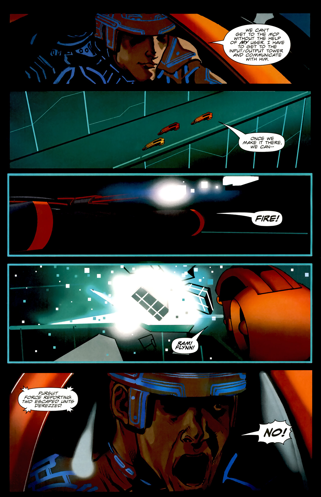 Read online TRON: Original Movie Adaptation comic -  Issue #2 - 12