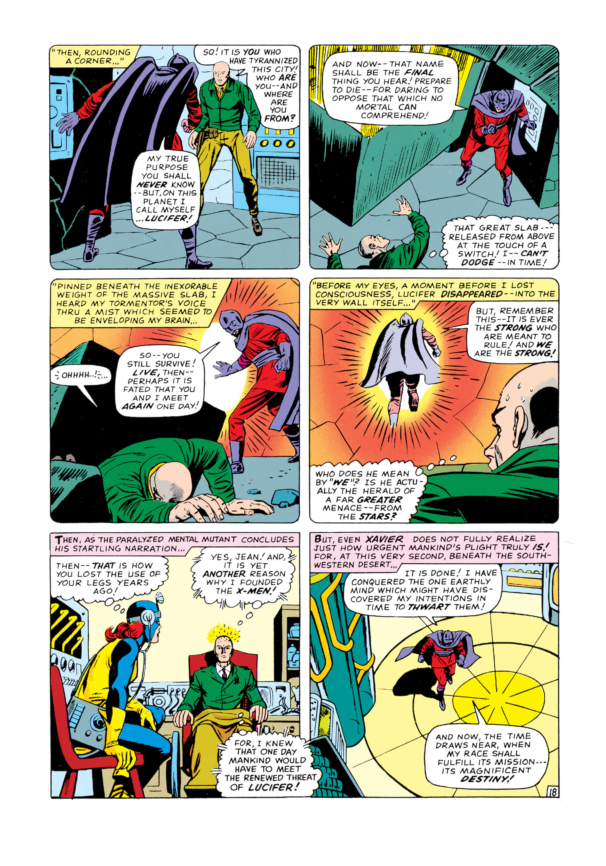 Read online Uncanny X-Men (1963) comic -  Issue #20 - 19