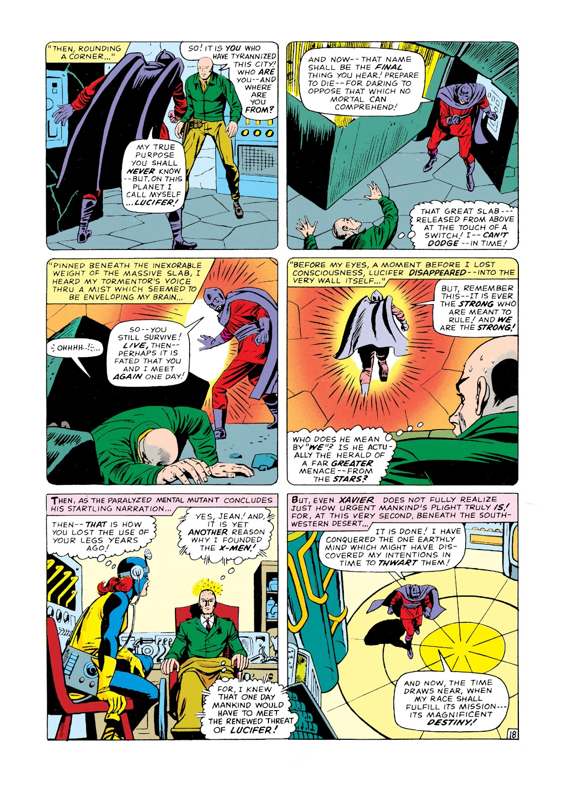 Uncanny X-Men (1963) issue 20 - Page 19