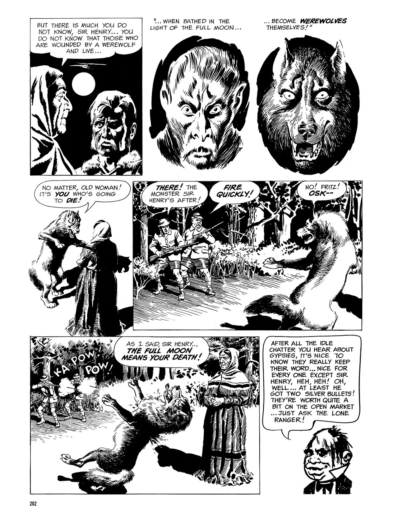 Read online Eerie Archives comic -  Issue # TPB 3 - 203