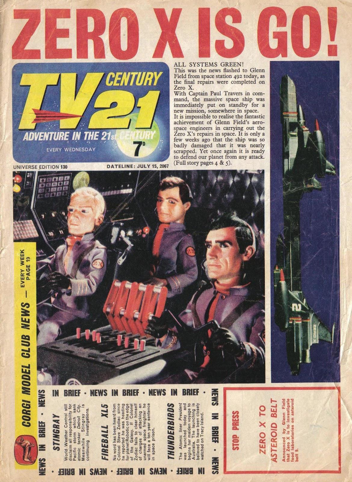 TV Century 21 (TV 21) 130 Page 1