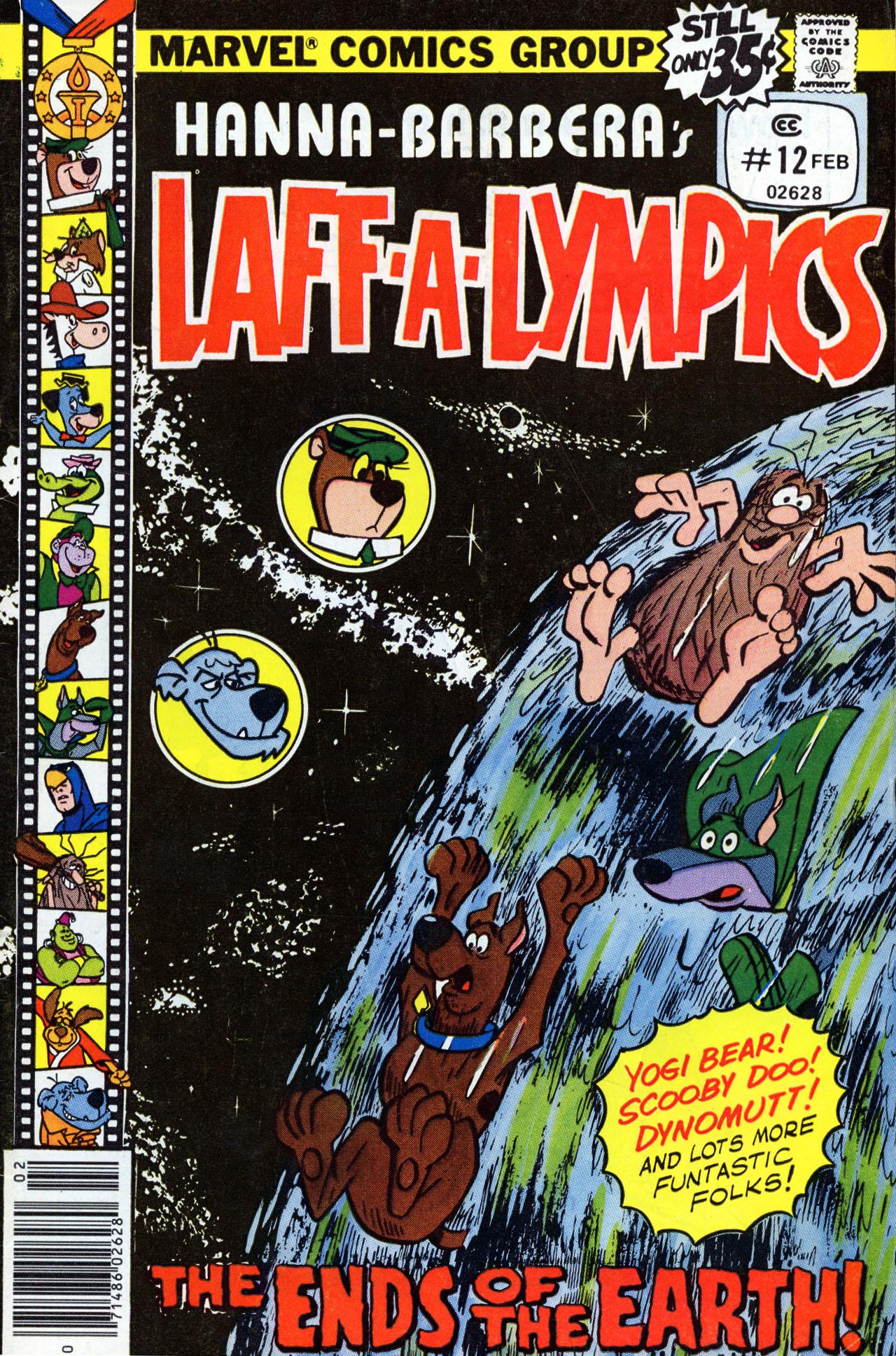Laff-a-lympics 12 Page 1