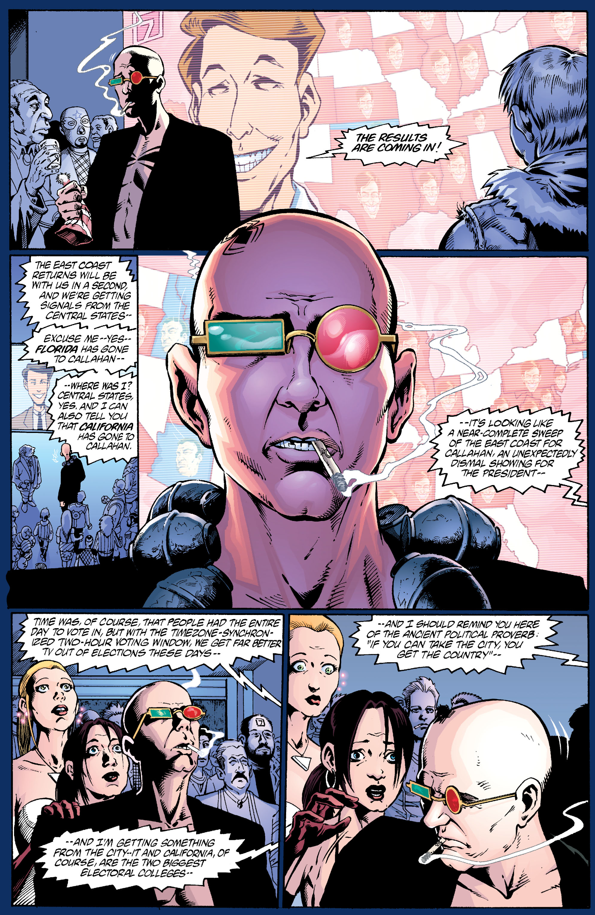 Read online Transmetropolitan comic -  Issue #24 - 16