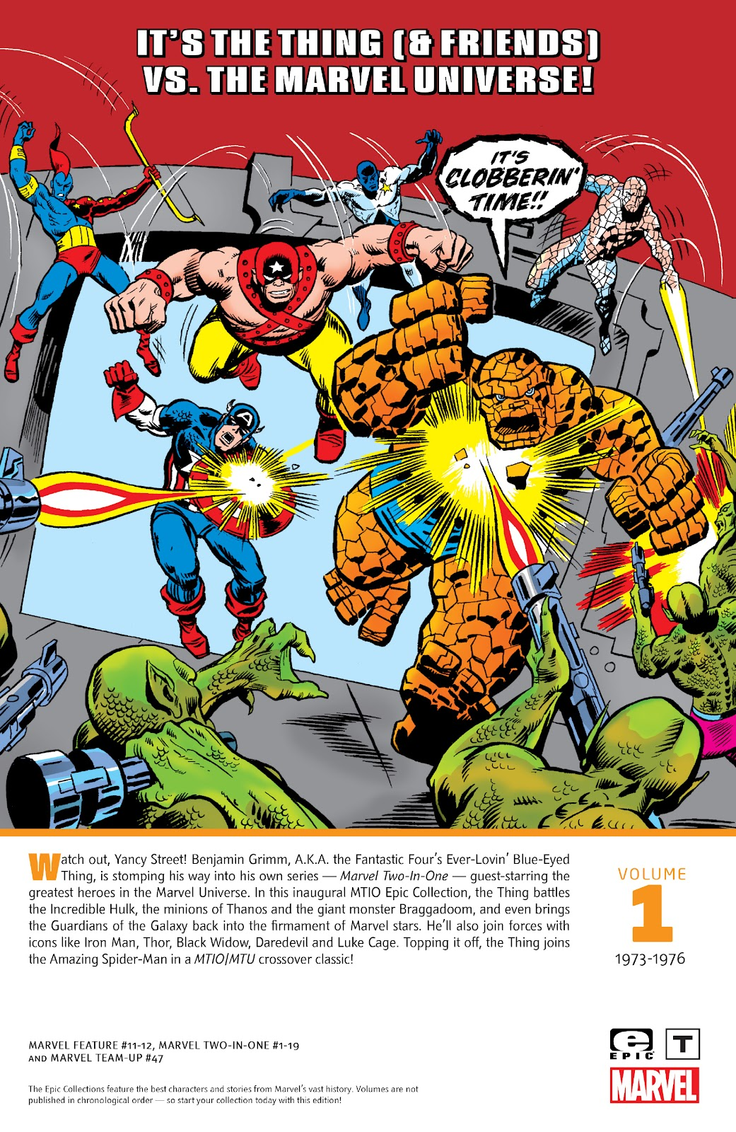 Read online Marvel Two-In-One Epic Collection: Cry Monster comic -  Issue # TPB (Part 4) - 127