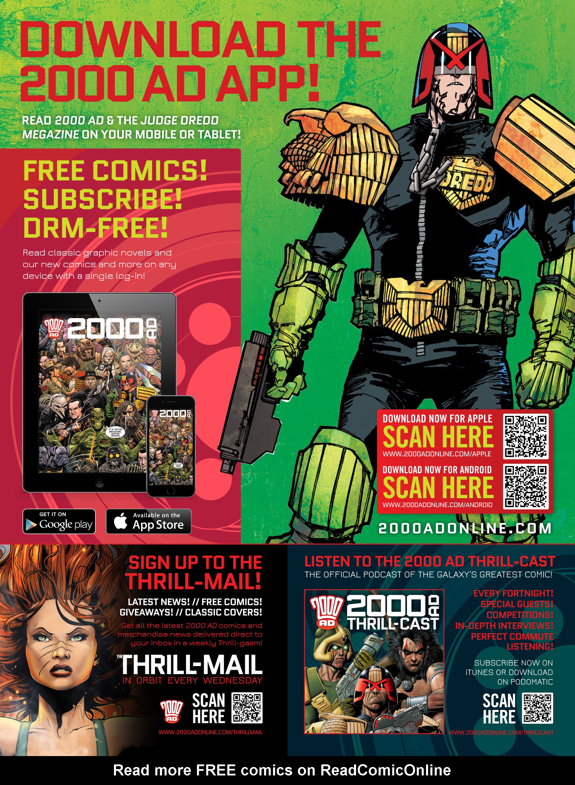 Read online 2000 AD comic -  Issue #2011 - 27