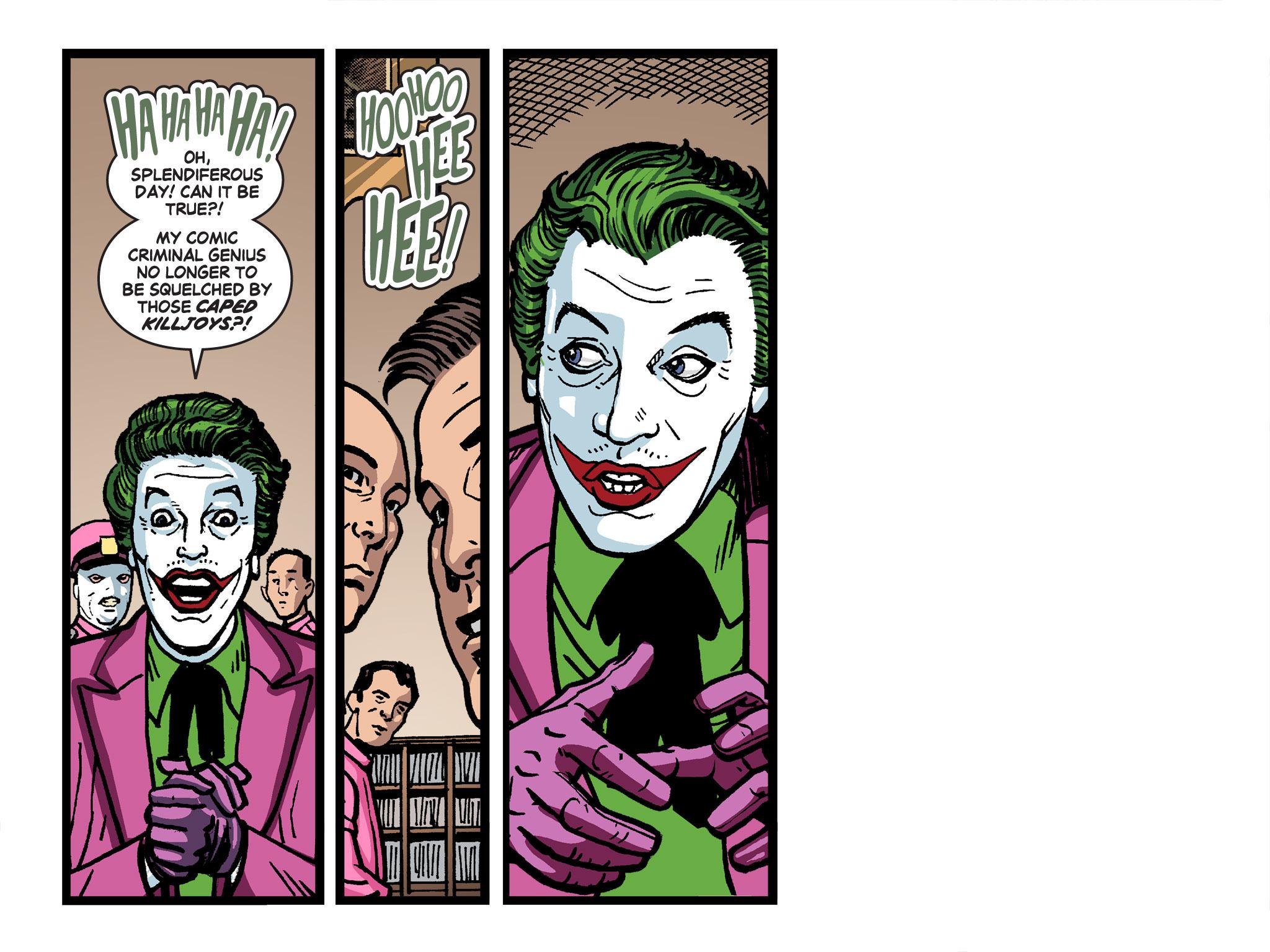 Read online Batman '66 Meets the Green Hornet [II] comic -  Issue #4 - 16