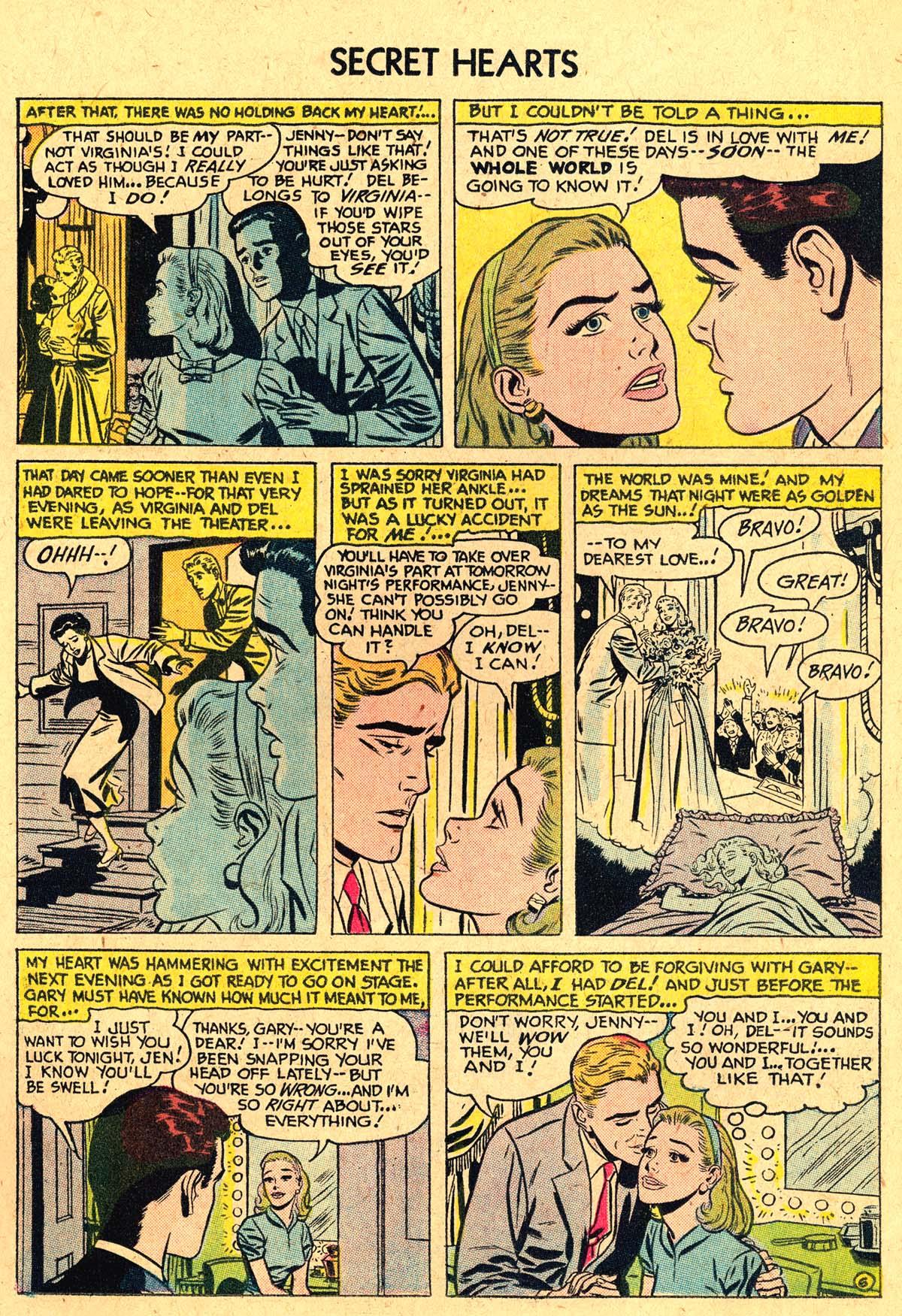 Read online Secret Hearts comic -  Issue #40 - 15