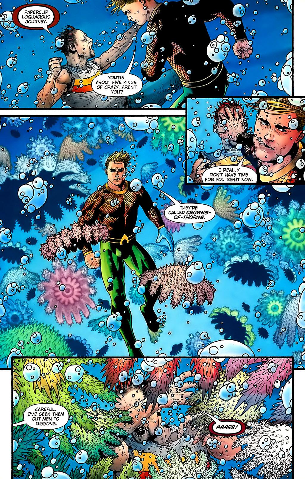 Read online Aquaman (2003) comic -  Issue #31 - 18
